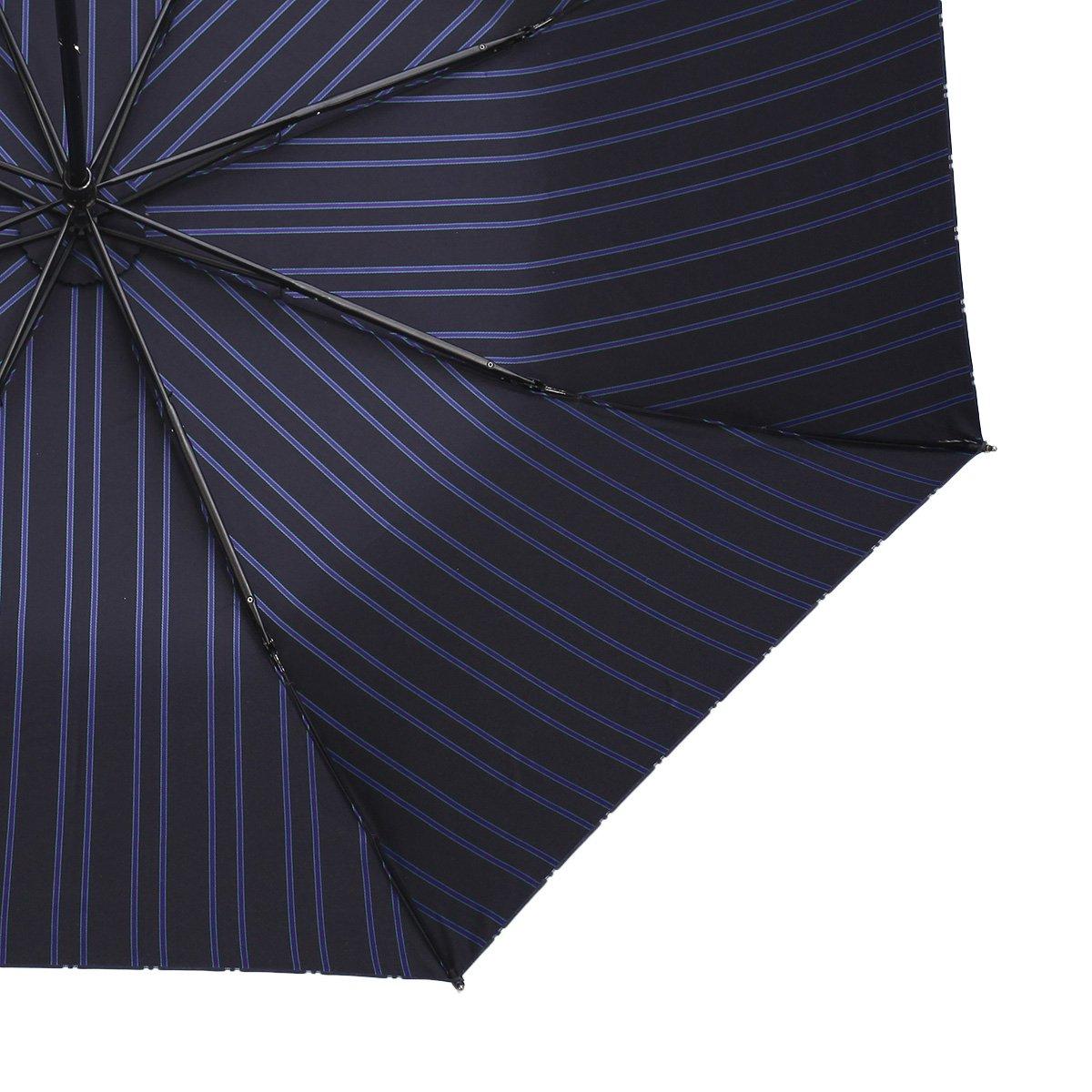 Wフェイス ストライプ 折りたたみ傘 詳細画像13