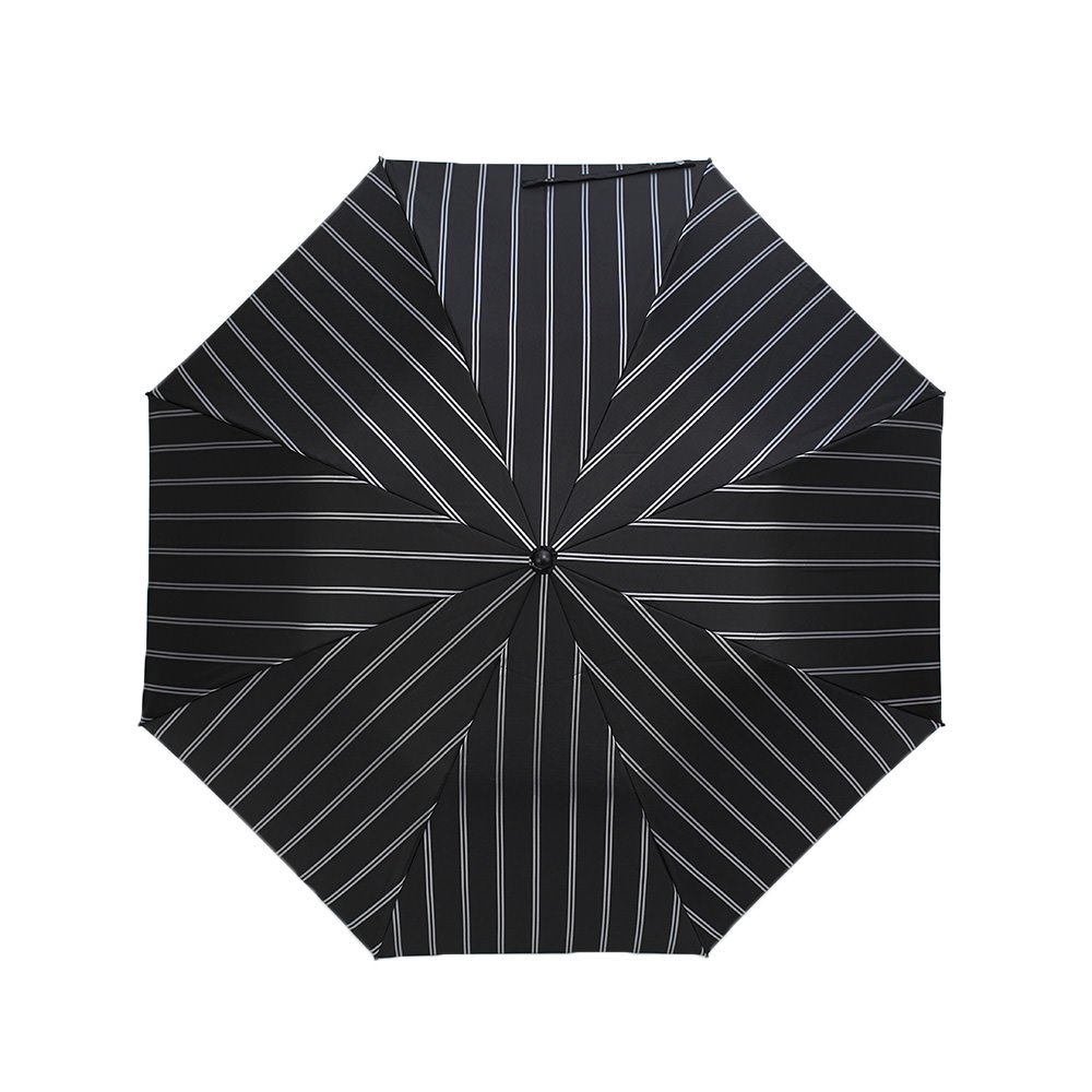 Wフェイス ストライプ 折りたたみ傘 詳細画像5