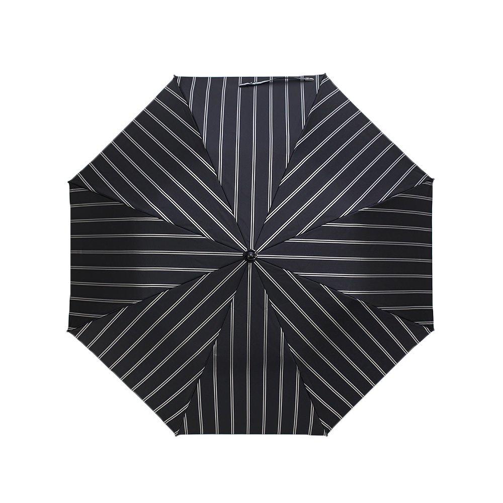 Wフェイス ストライプ 折りたたみ傘 詳細画像6