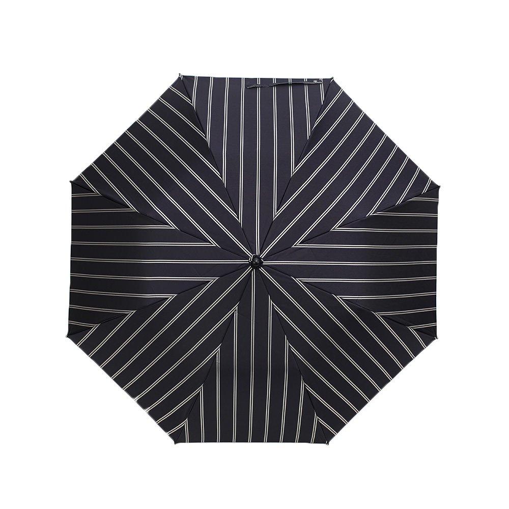 Wフェイス ストライプ 折りたたみ傘 詳細画像7