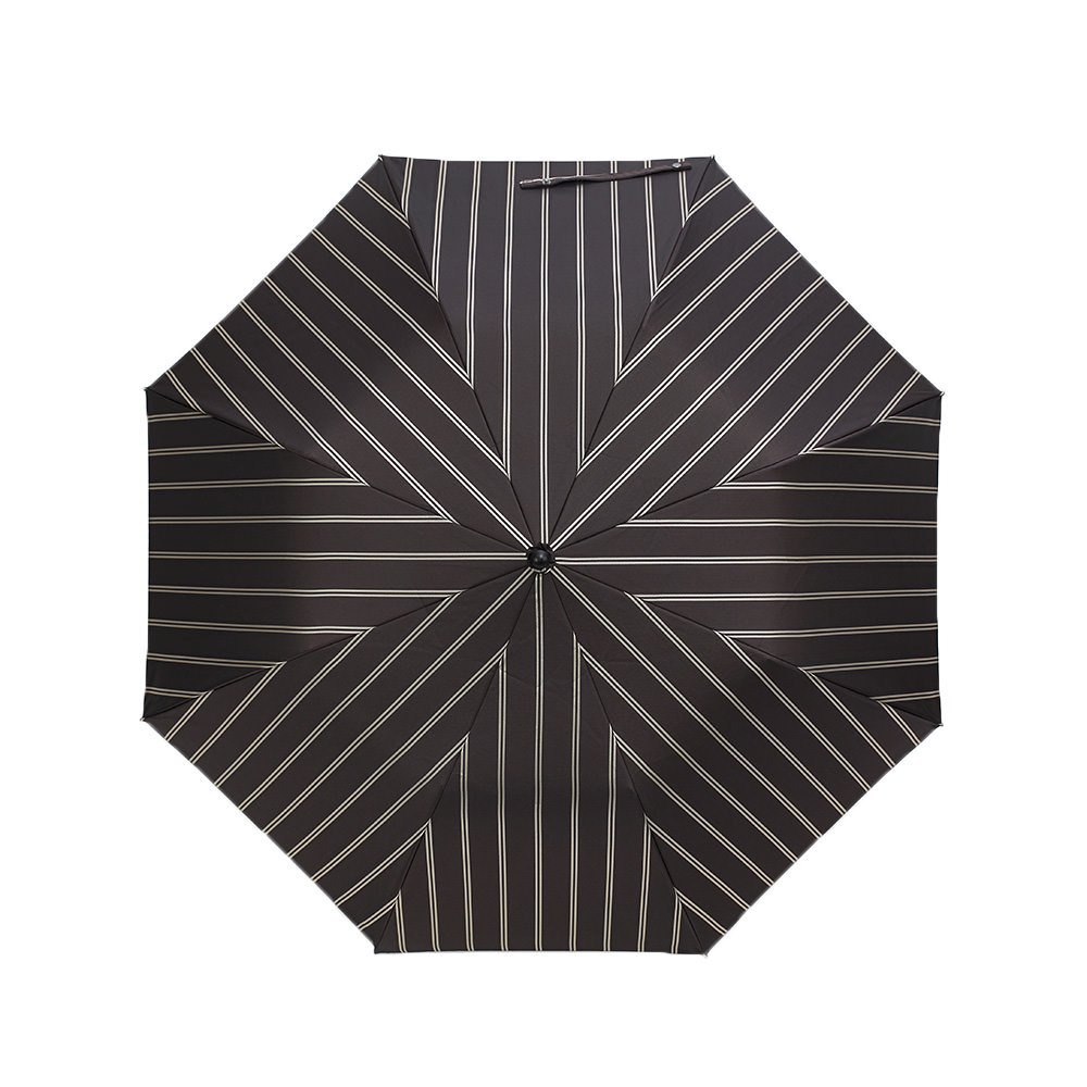 Wフェイス ストライプ 折りたたみ傘 詳細画像8