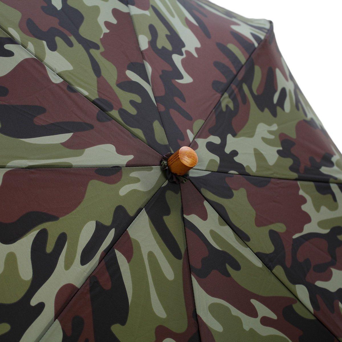 カモフラージュ 折りたたみ傘 詳細画像5