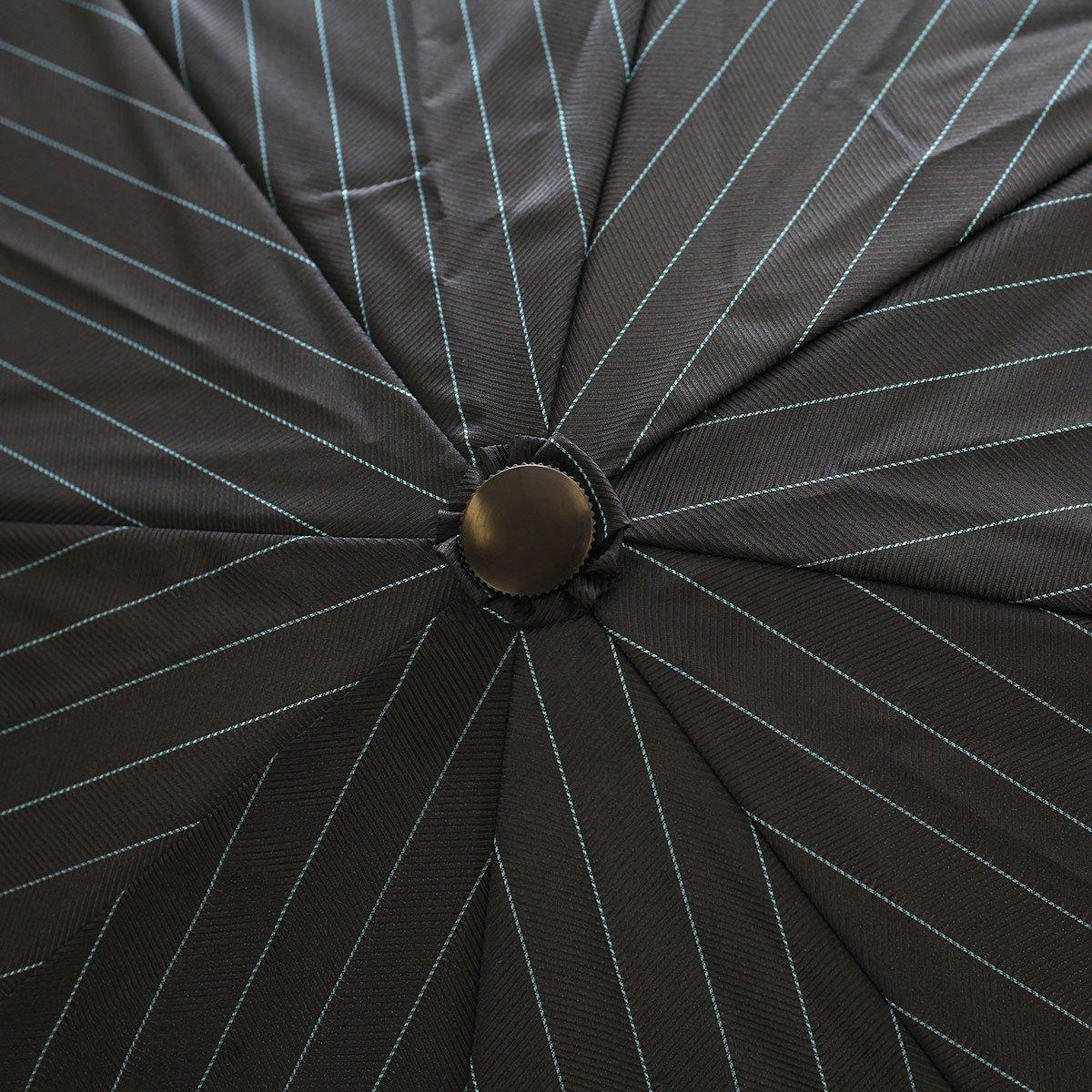 へリンカラー ストライプ 耐風骨 折りたたみ傘 詳細画像9