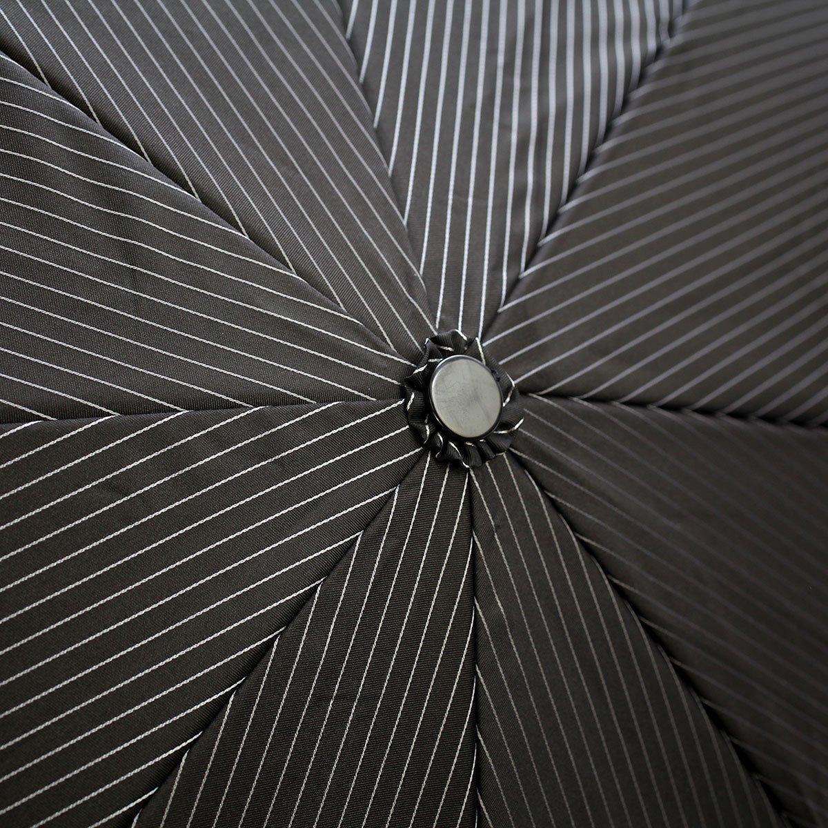 ブライトストライプ 耐風骨 折りたたみ傘 詳細画像7
