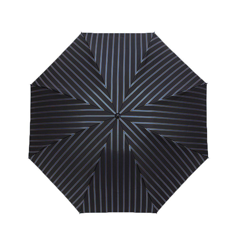 Wフェイス カラーストライプ 折りたたみ傘 詳細画像7