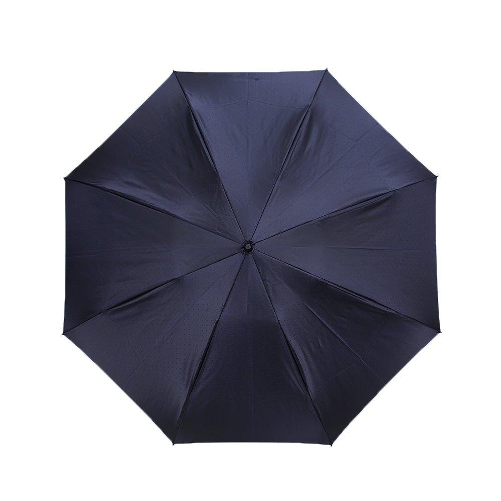 ジャカード ドット 折りたたみ傘 詳細画像5