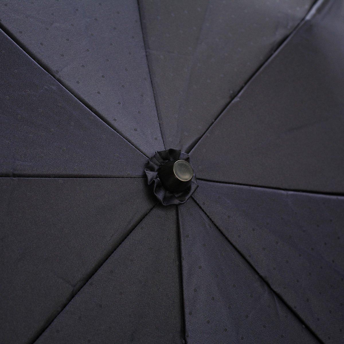 ジャカード ドット 折りたたみ傘 詳細画像7