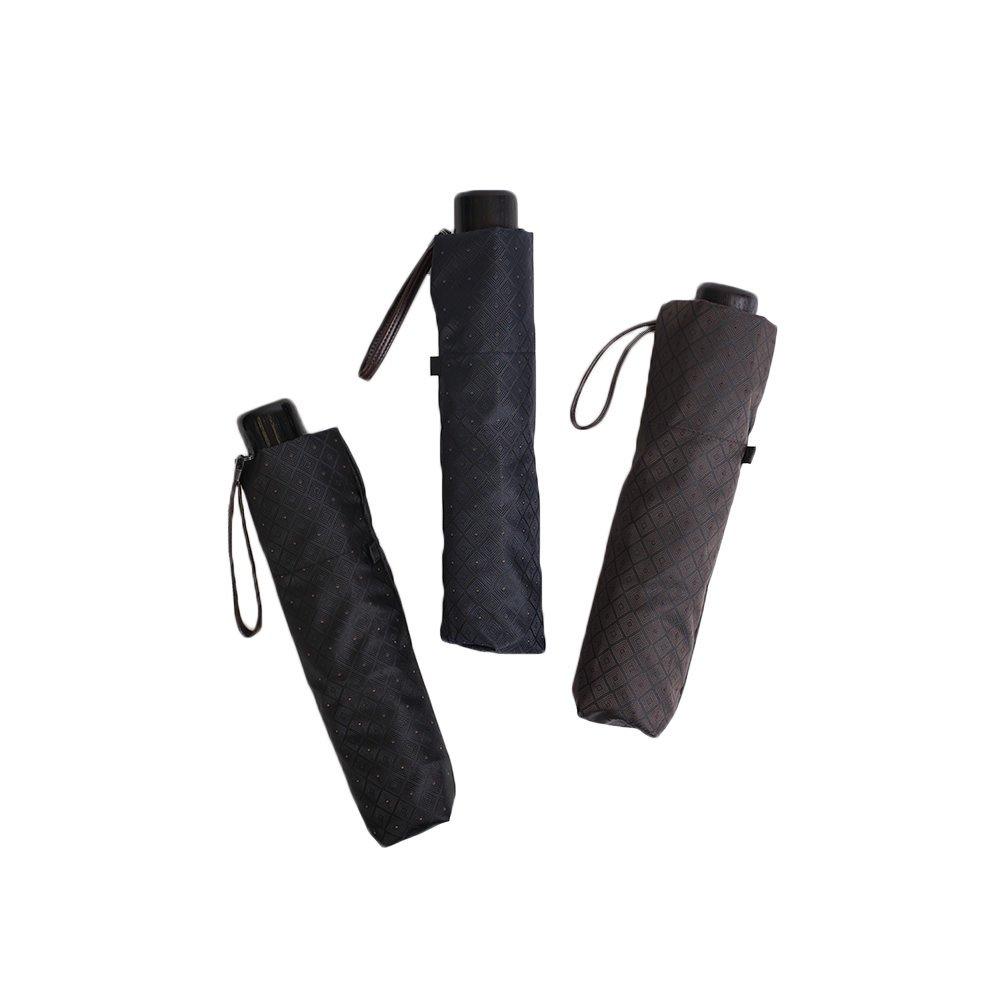 【セール】ミニ フラット 小紋 折りたたみ傘 詳細画像10