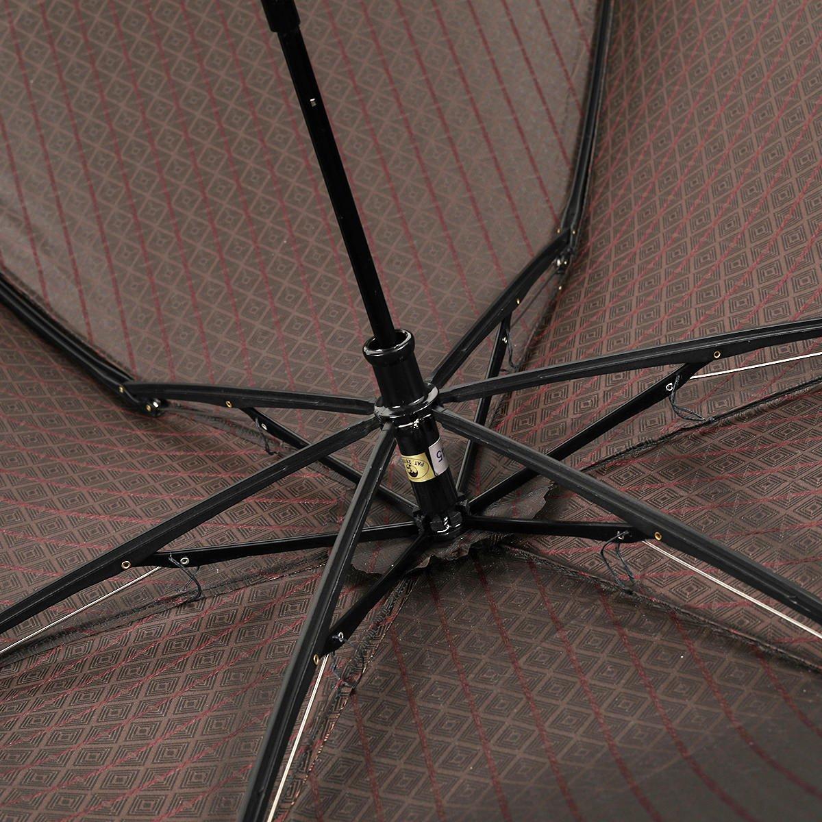 ミニ フラット 小紋 折りたたみ傘 詳細画像7