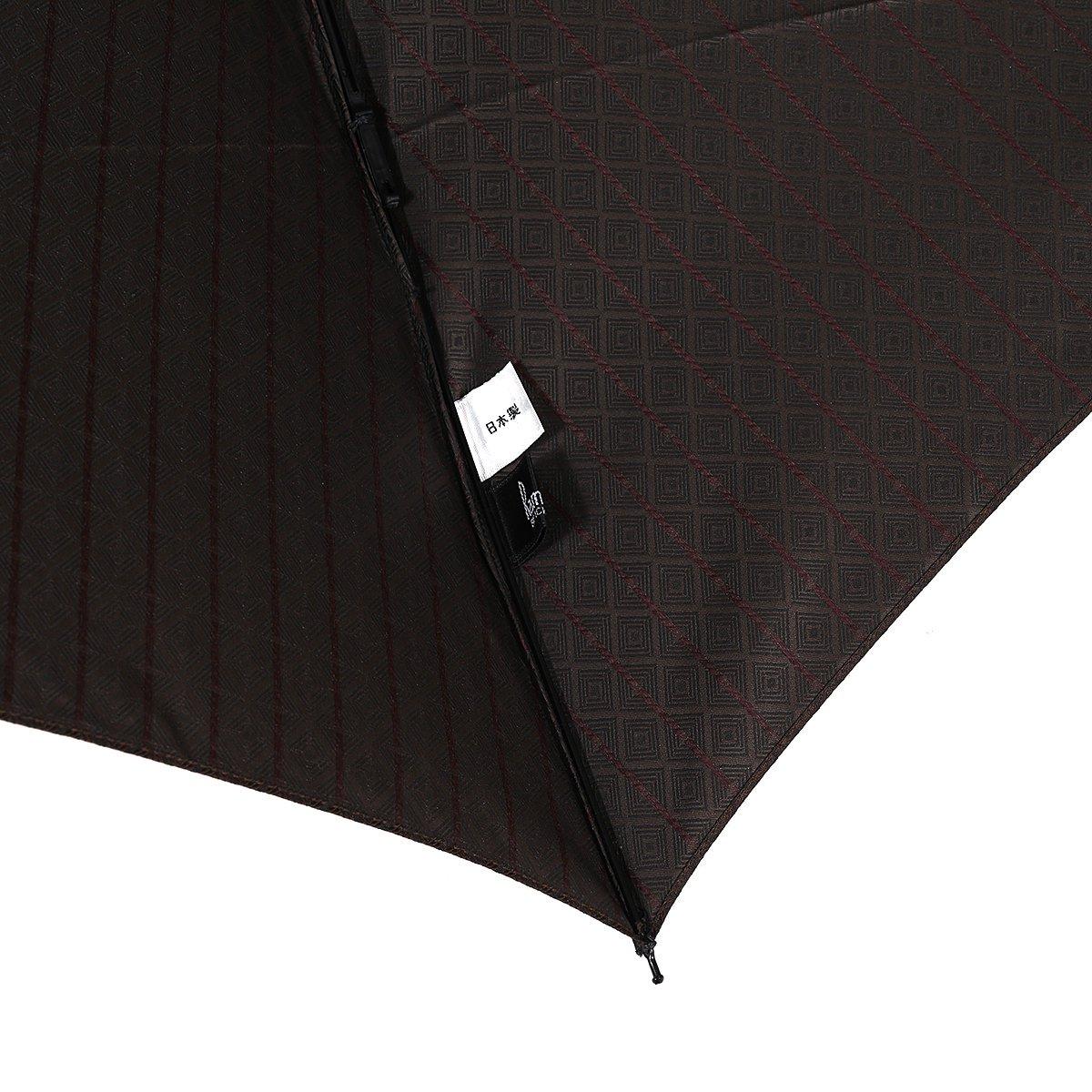 【セール】ミニ フラット 小紋 折りたたみ傘 詳細画像9