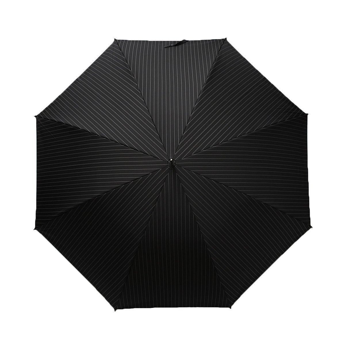 【セール】ツイルストライプ 長傘 詳細画像7