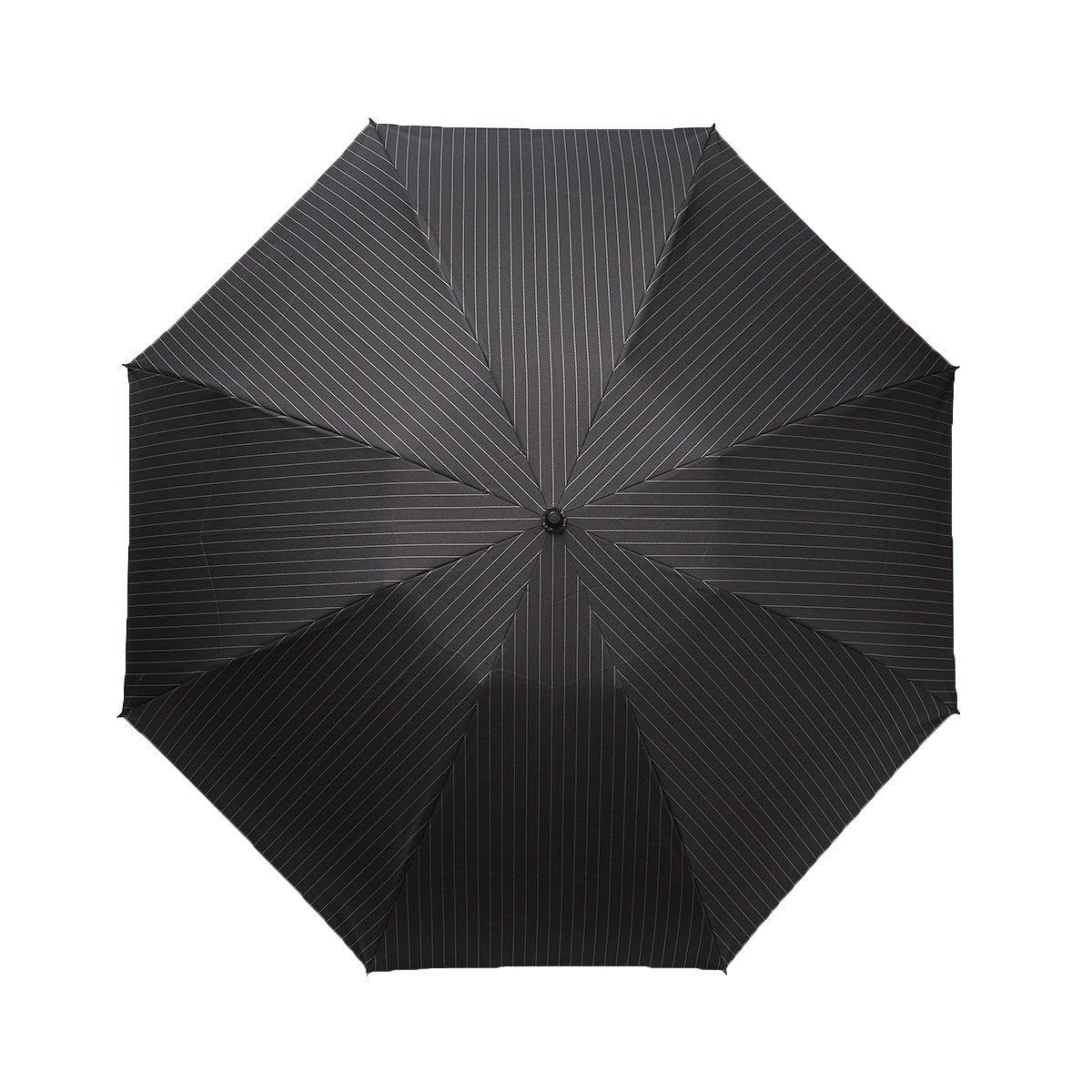 【セール】ツイルストライプ 折りたたみ傘 詳細画像5