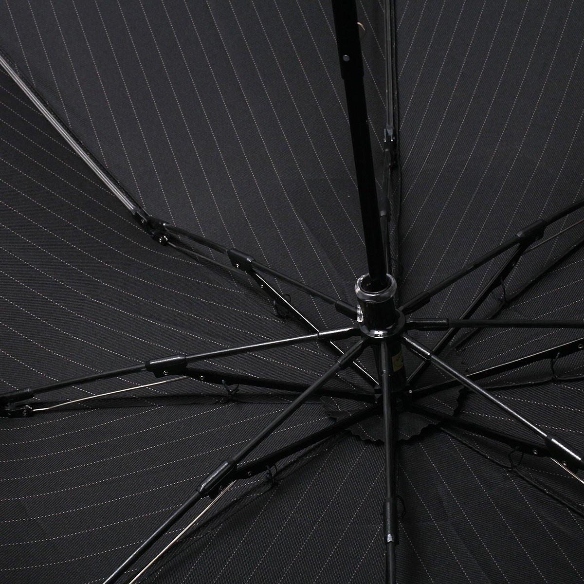 【セール】ツイルストライプ 折りたたみ傘 詳細画像6