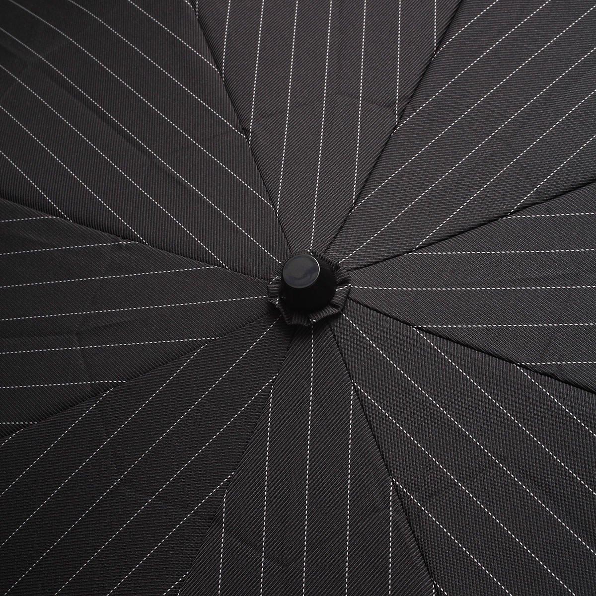 【セール】ツイルストライプ 折りたたみ傘 詳細画像7