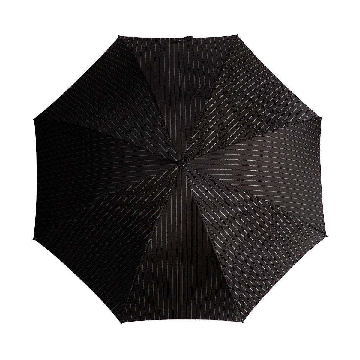 【公式限定】カラー骨 ジャカード ストライプ 長傘 詳細画像5
