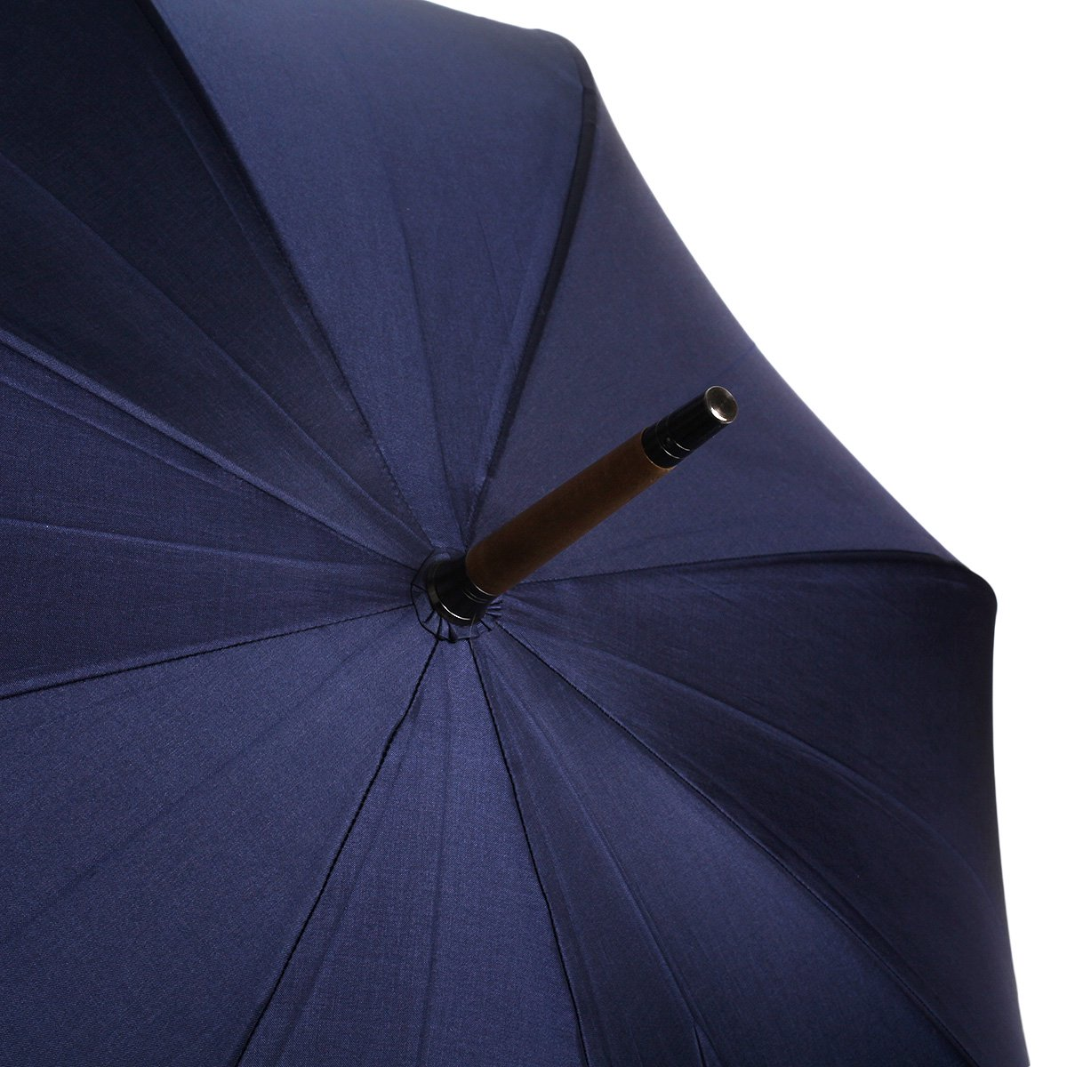 【10%OFF】【公式限定】富士絹 細巻き 長傘(アイアンウッド) 詳細画像10