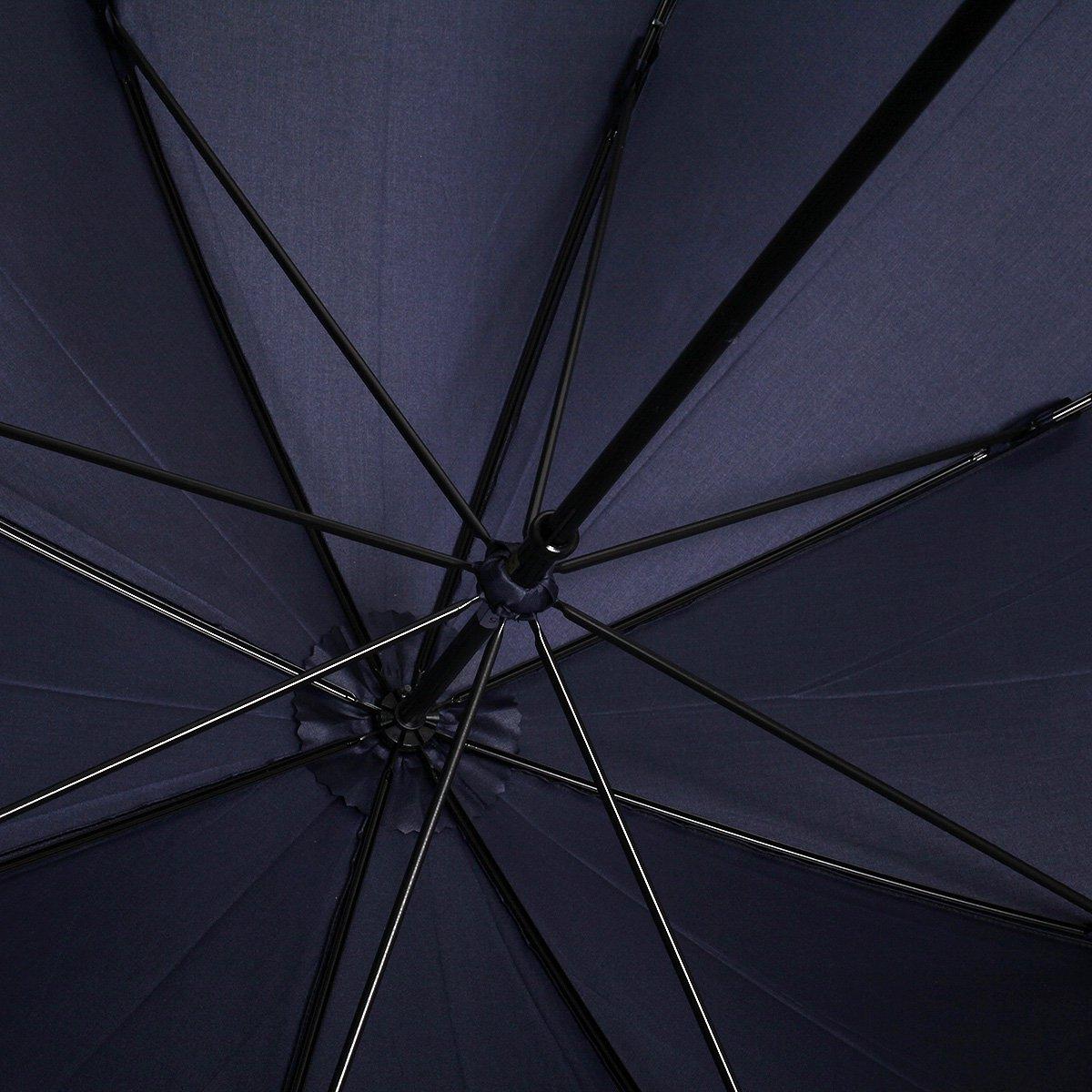 【10%OFF】【公式限定】富士絹 細巻き 長傘(アイアンウッド) 詳細画像11