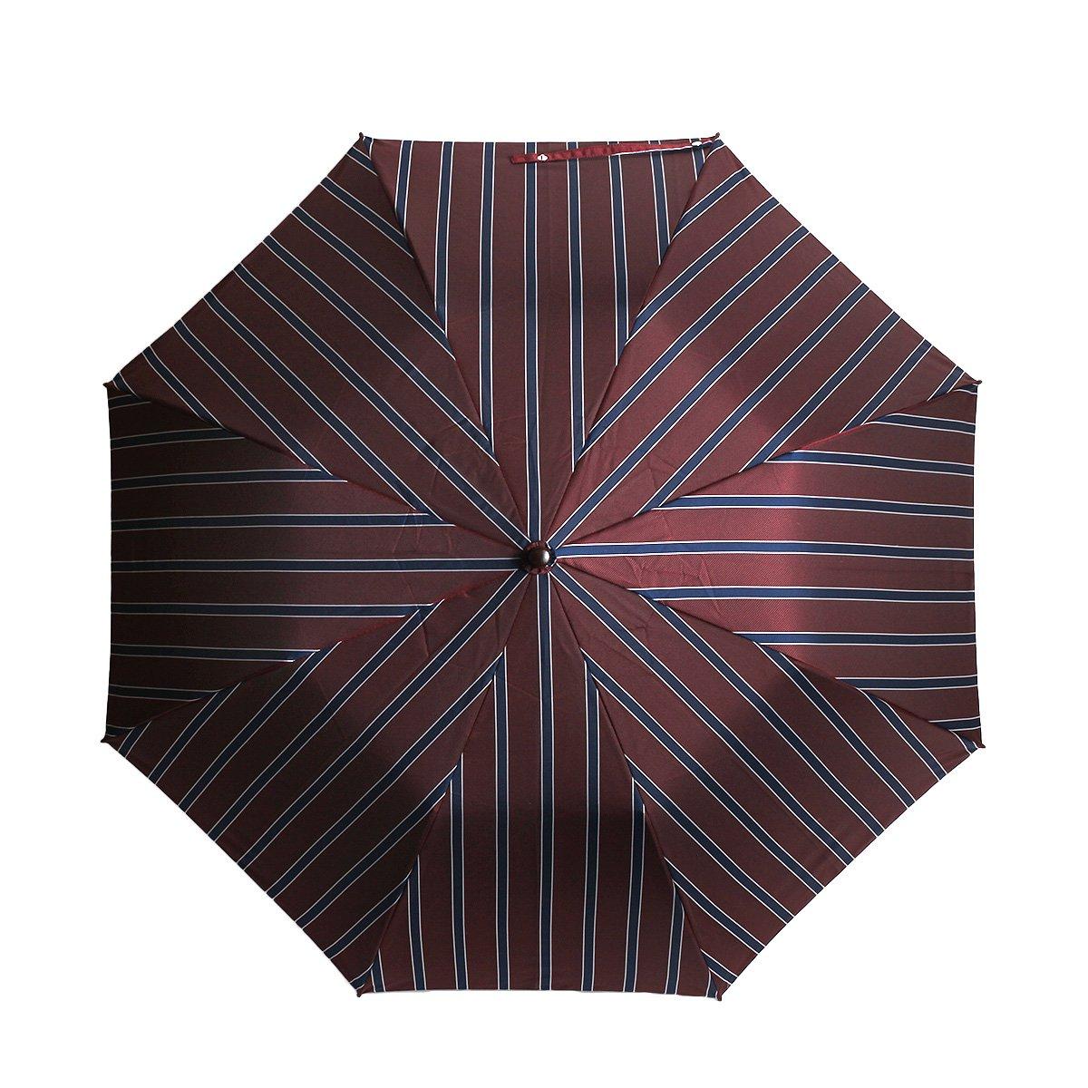 トラッドストライプ 折りたたみ傘 詳細画像5