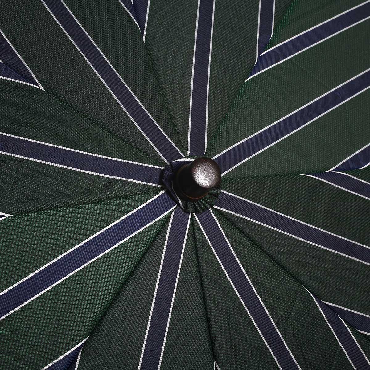 トラッドストライプ 折りたたみ傘 詳細画像7