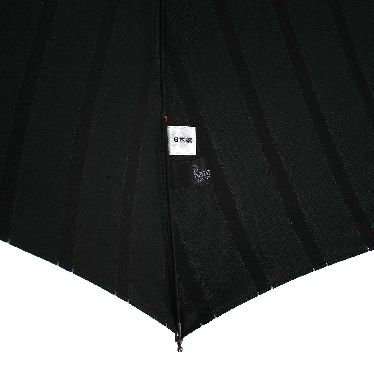 トラッドストライプ 折りたたみ傘 詳細画像9