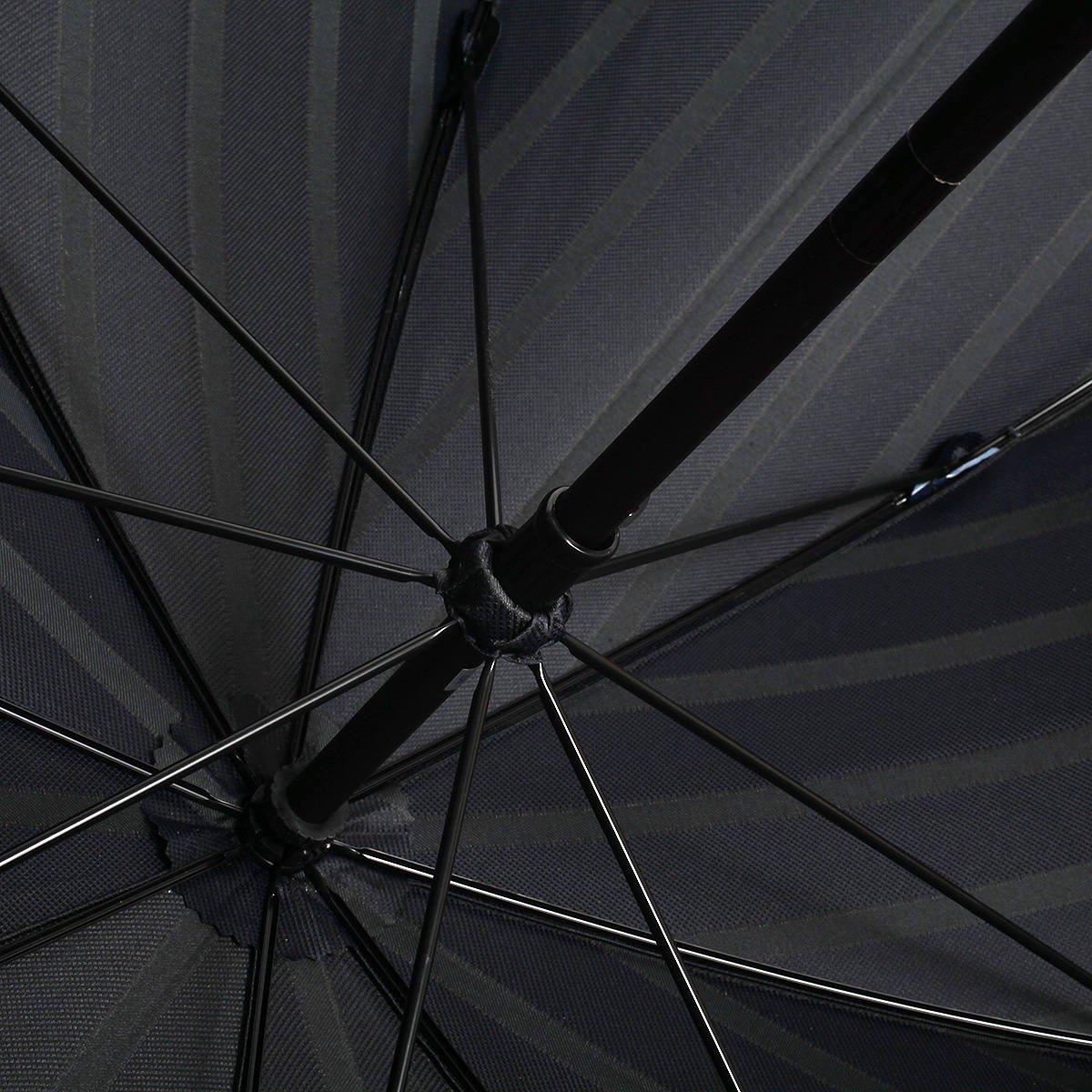 トラッドストライプ 長傘 詳細画像8