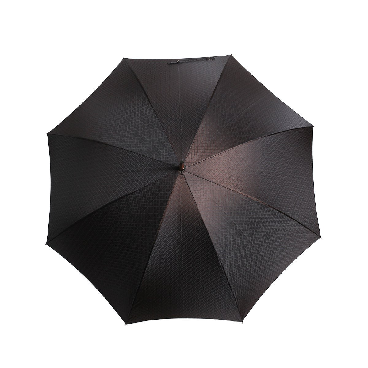 【WEB限定】FOX Frames 小紋柄 長傘(ブラウン) 詳細画像8