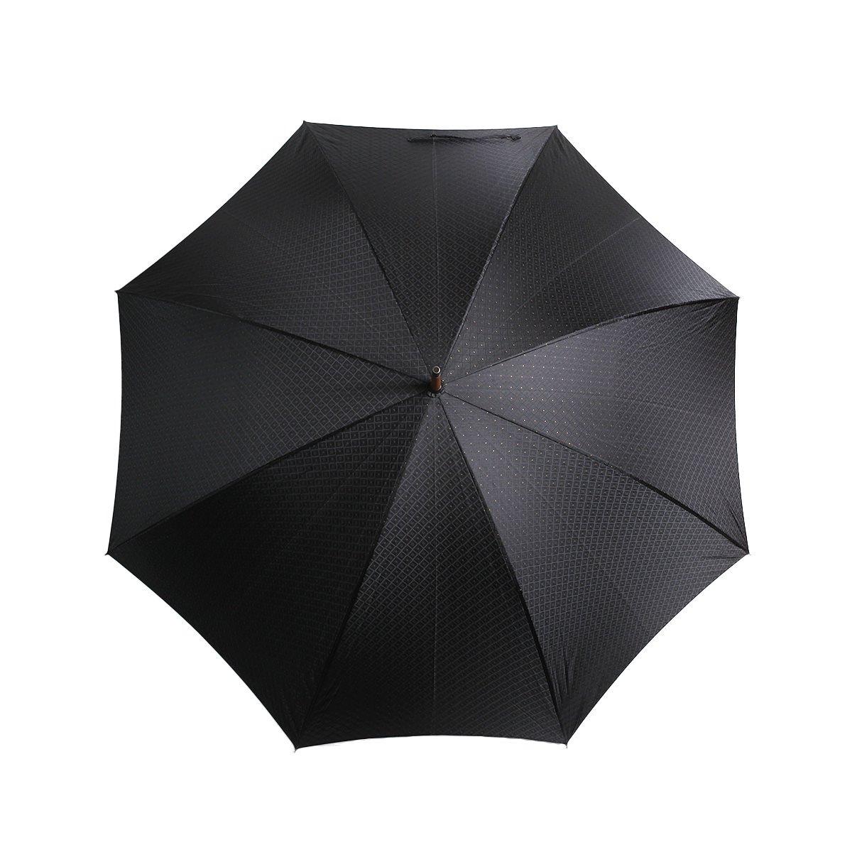 【WEB限定】FOX Frames 小紋柄 長傘(ブラック) 詳細画像8