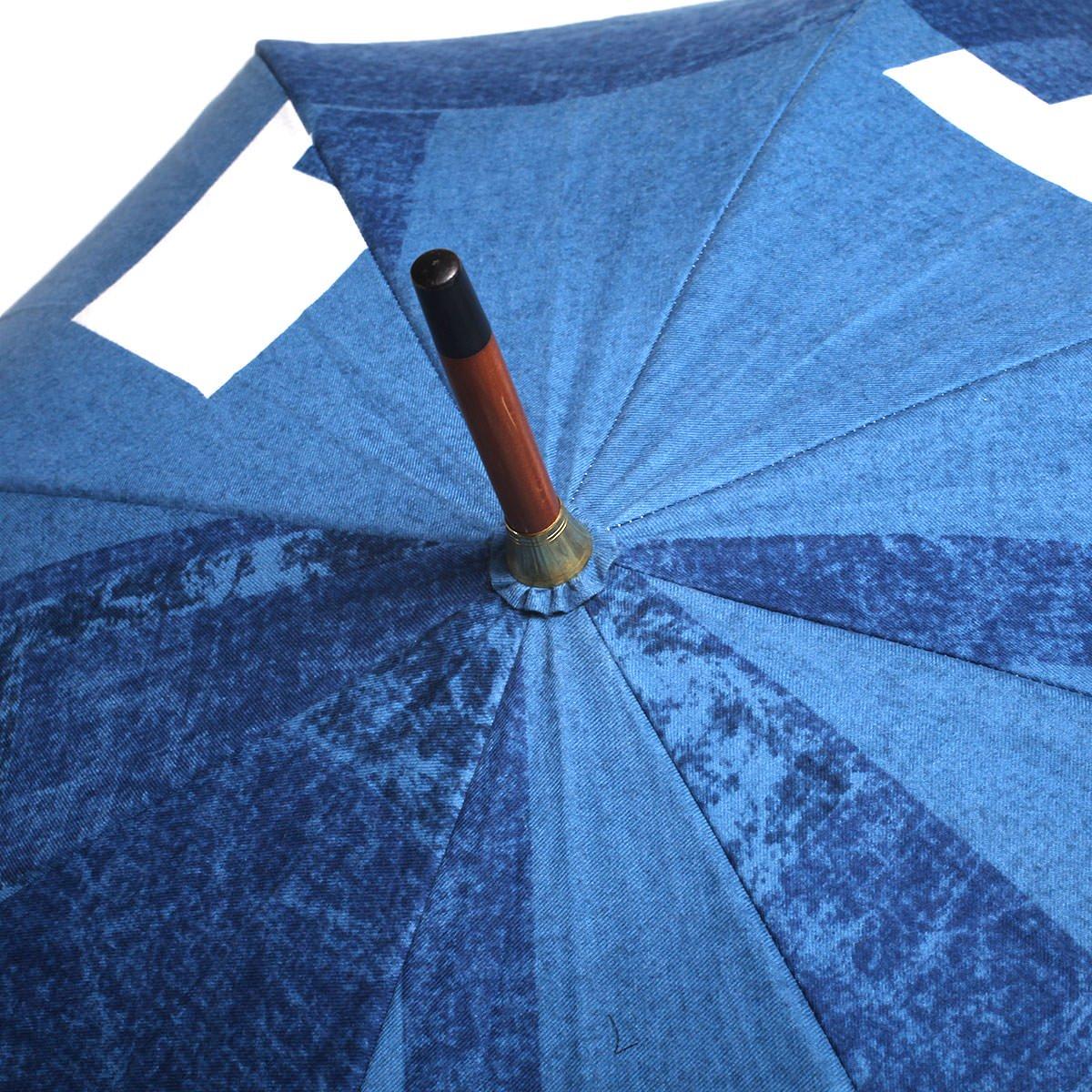 【晴雨兼用傘】レディース ウォールプリント 長傘 詳細画像5