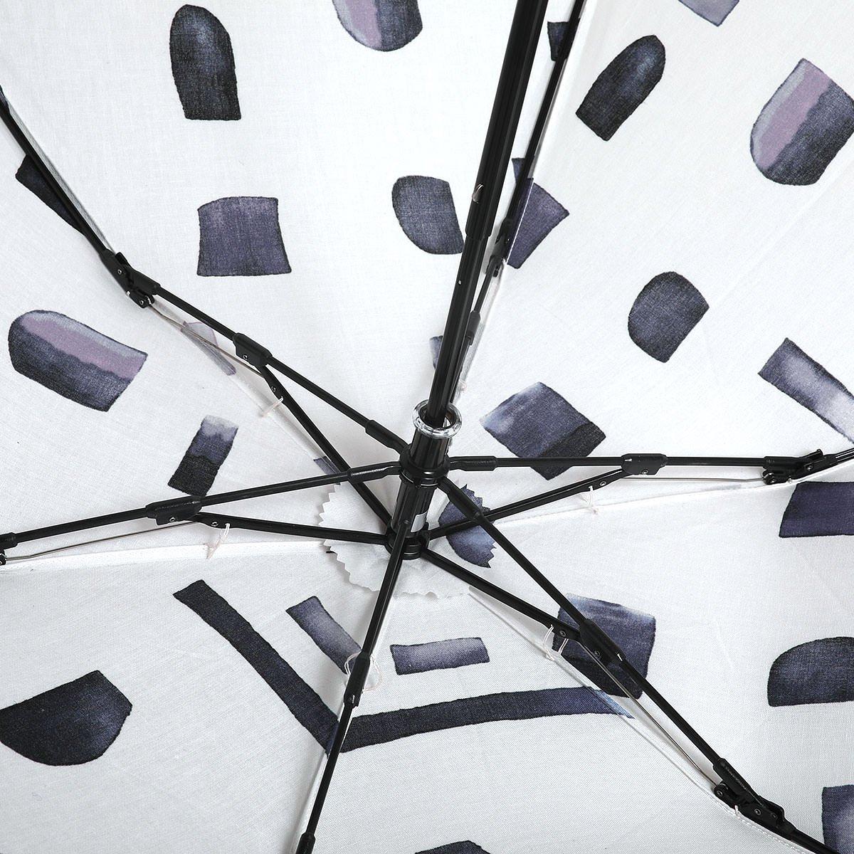 【晴雨兼用傘】レディース 水彩プリント 折りたたみ傘 詳細画像5