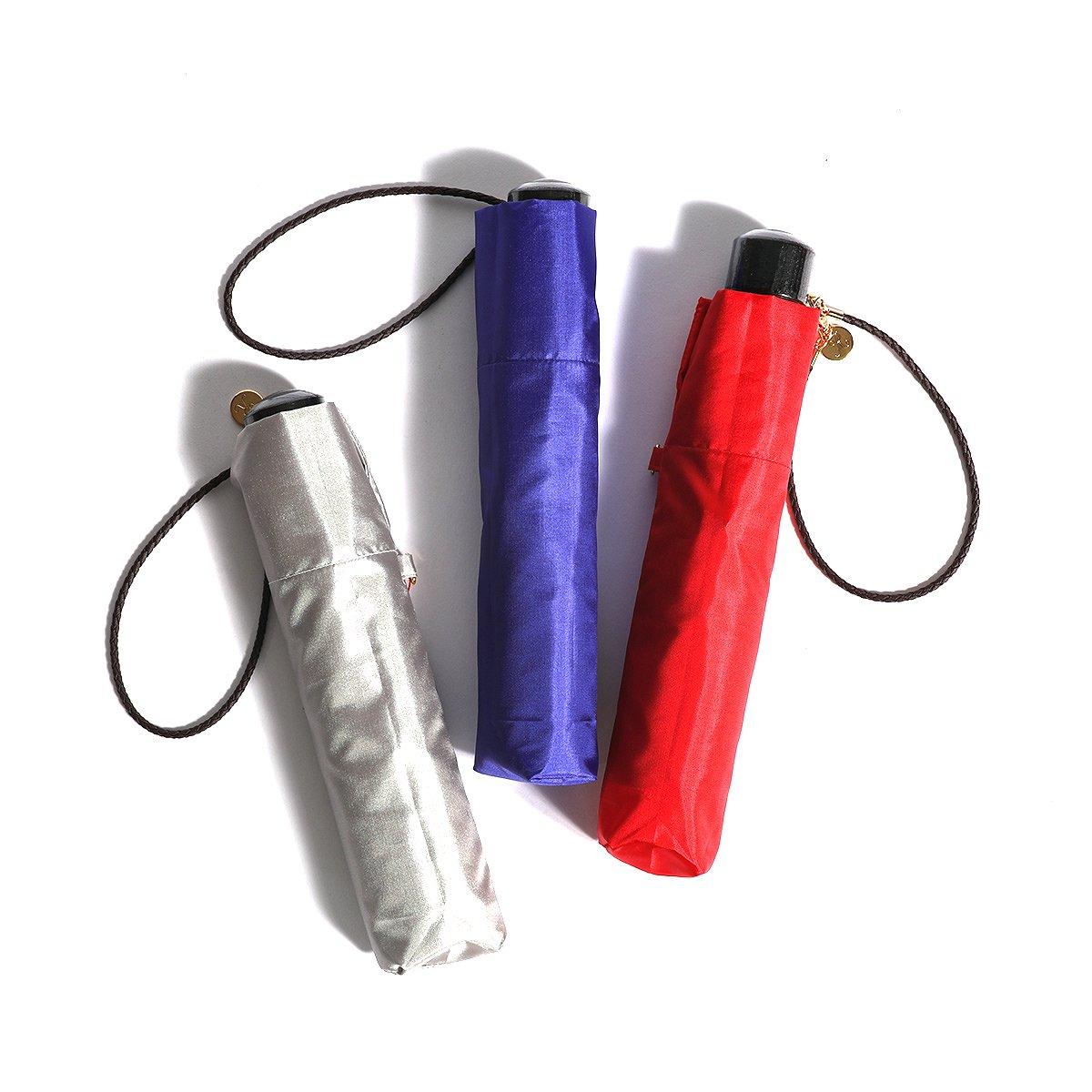 レディース 富士絹 折りたたみ傘 詳細画像20