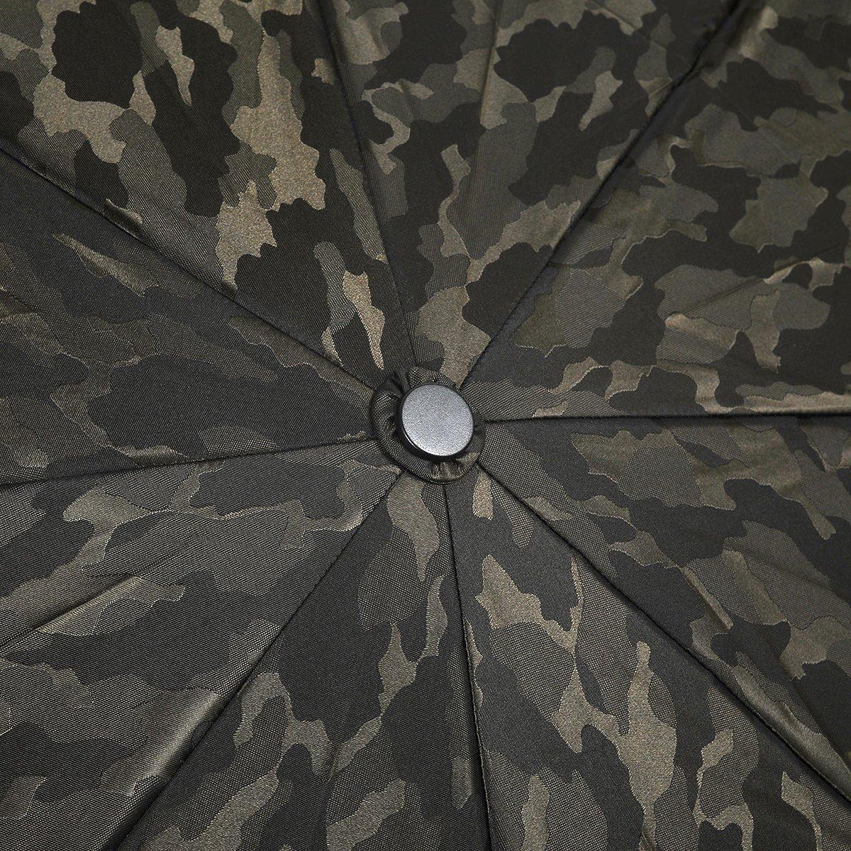 自動開閉 カモフラージュ 折りたたみ傘 詳細画像5