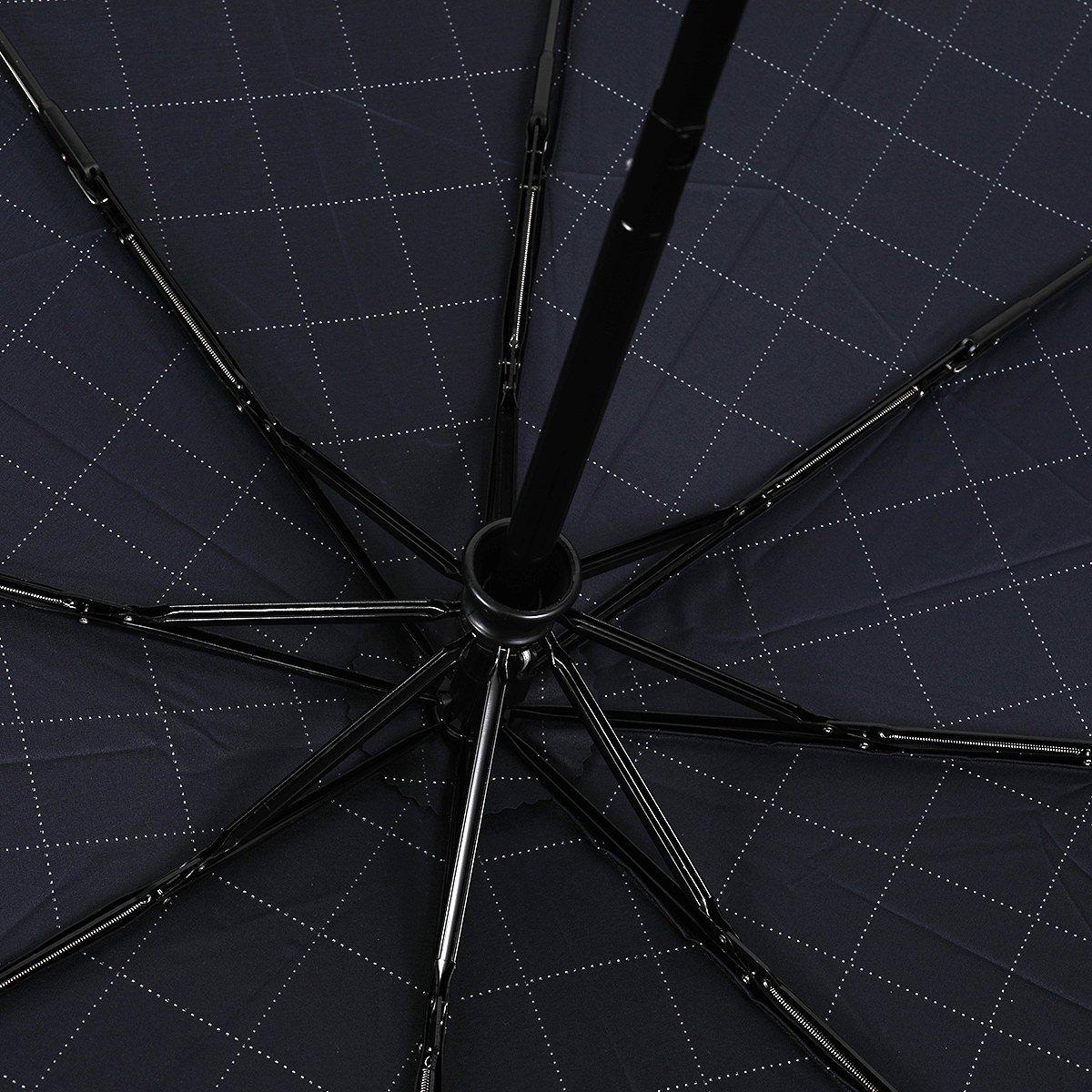 自動開閉 ウィンドステッチ 折りたたみ傘 詳細画像6