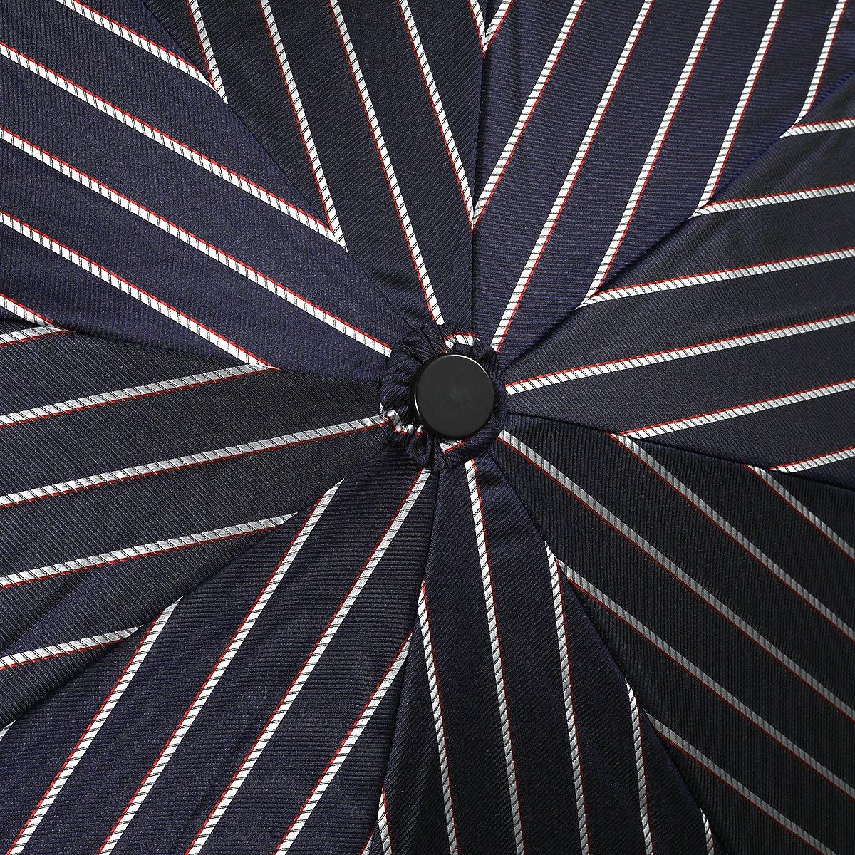 レイン ストライプ 耐風骨 折りたたみ傘 詳細画像5