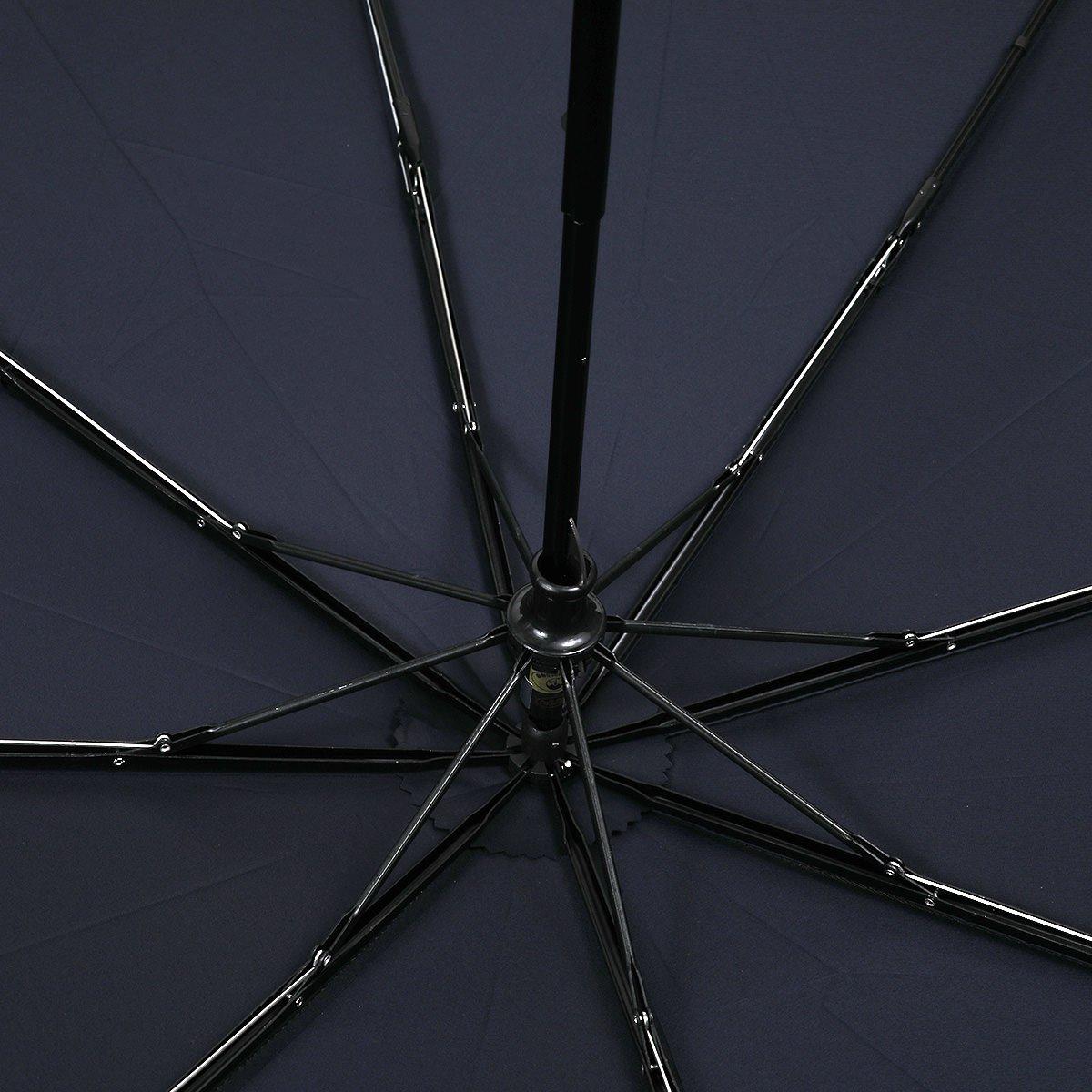 【公式限定】強力撥水 レインドロップ レクタス 耐風骨 折りたたみ傘 詳細画像7