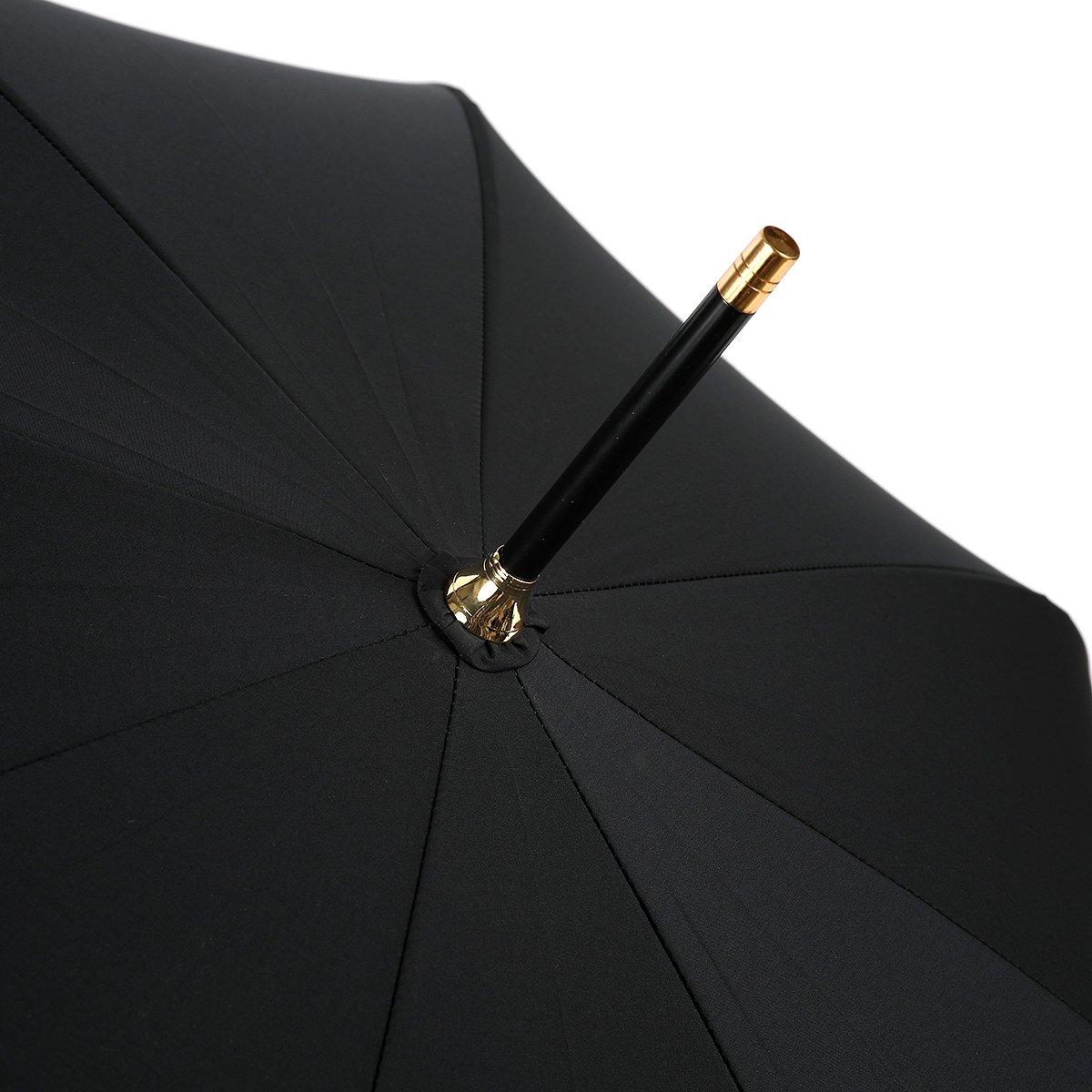 強力撥水 レインドロップ レディース レクタス バンブー 長傘(58cm) 詳細画像9