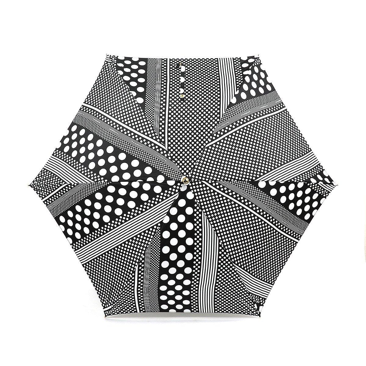 東京ノーブル ドットストライプ 折りたたみ傘 詳細画像5