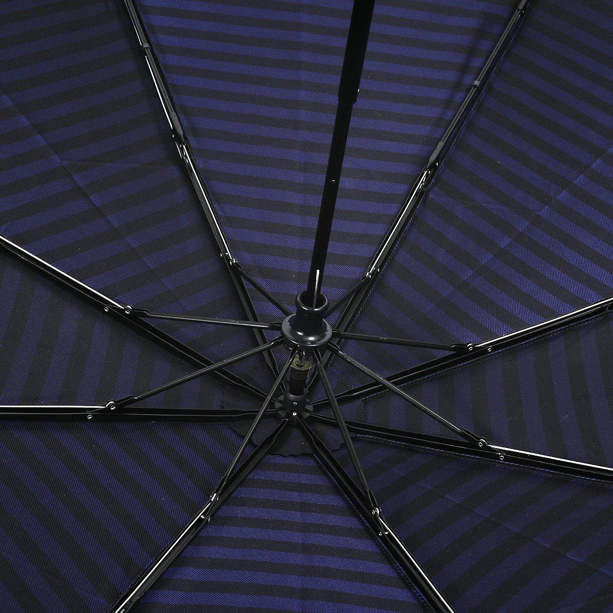 【限定】ラガー ボーダー 耐風骨 折りたたみ傘 詳細画像8