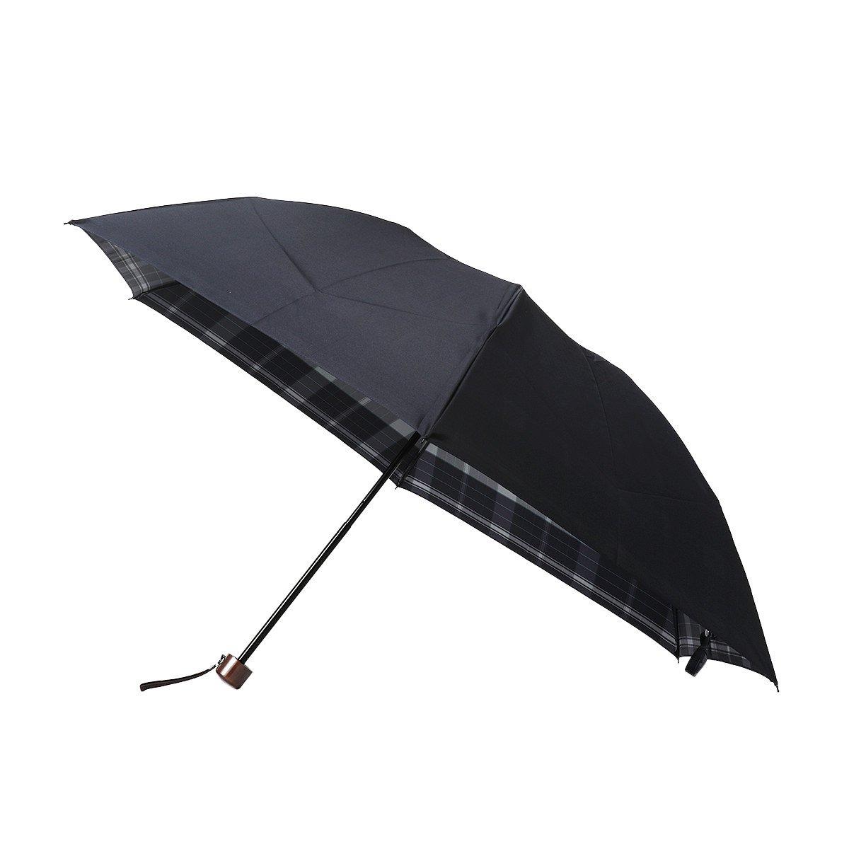 Wフェイス ビッグチェック 折りたたみ傘 詳細画像7
