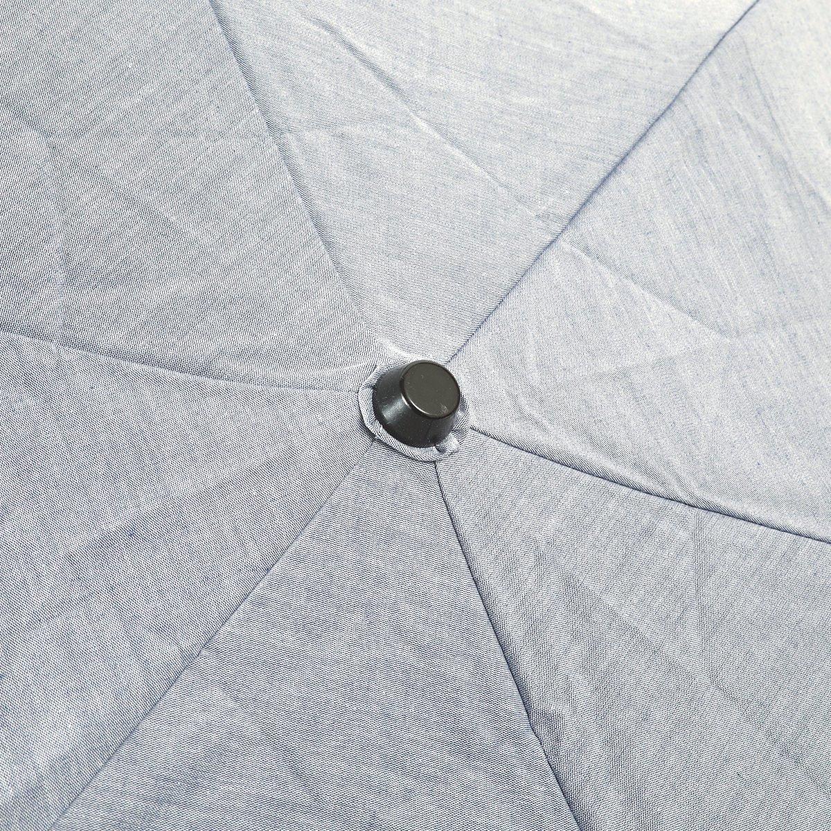 【一級遮光】シャンブレー オールシーズン 折りたたみ 日傘 詳細画像6