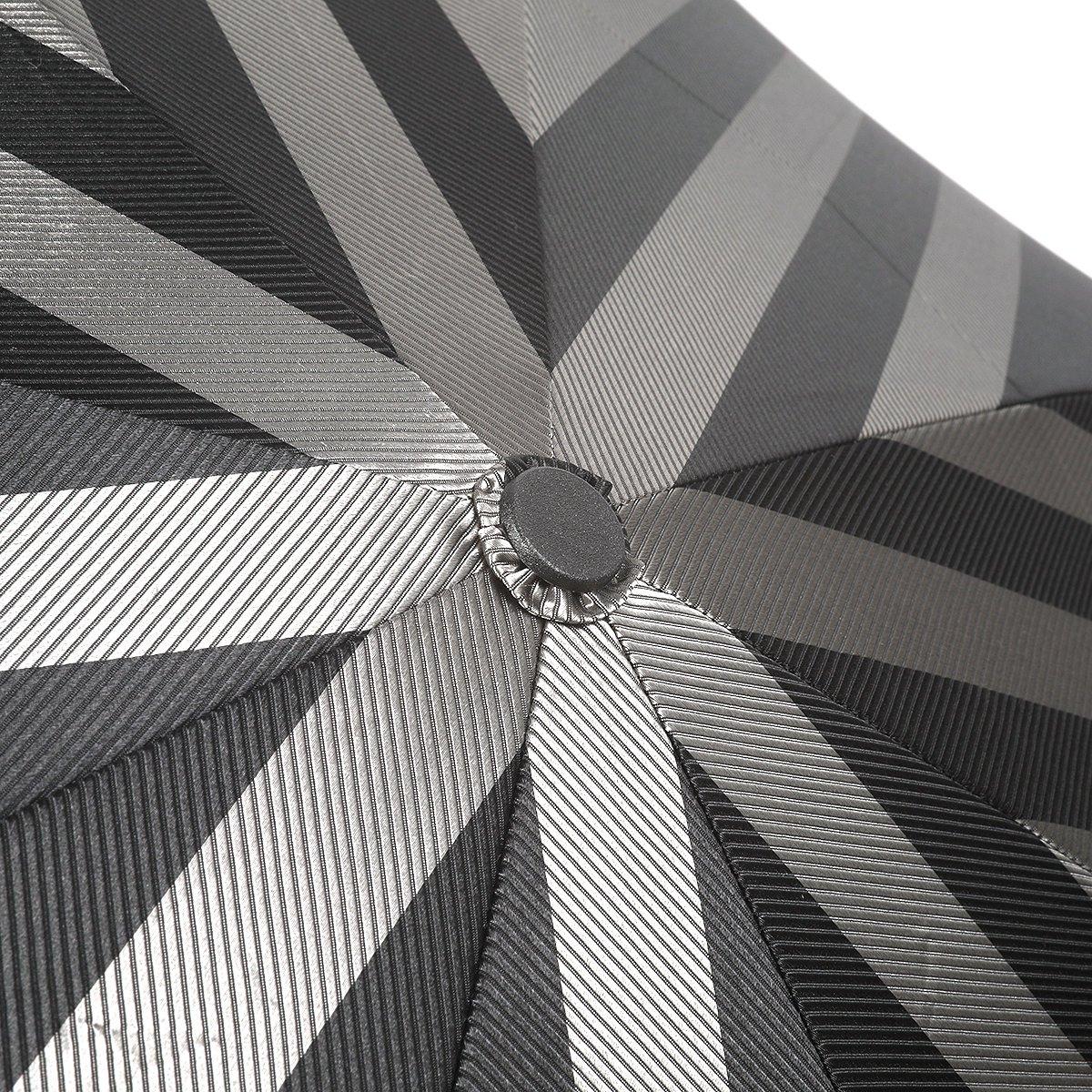 【公式限定】ワイドストライプ 耐風骨 折りたたみ傘 詳細画像5