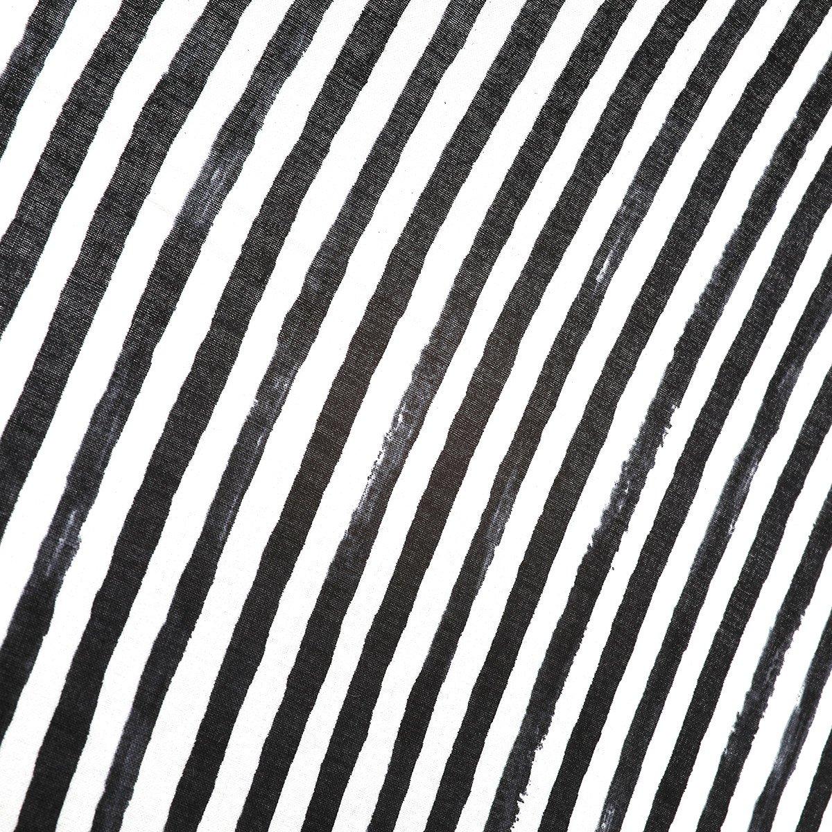 【晴雨兼用傘】レディース 手書き風 ボーダー柄 長傘 詳細画像8