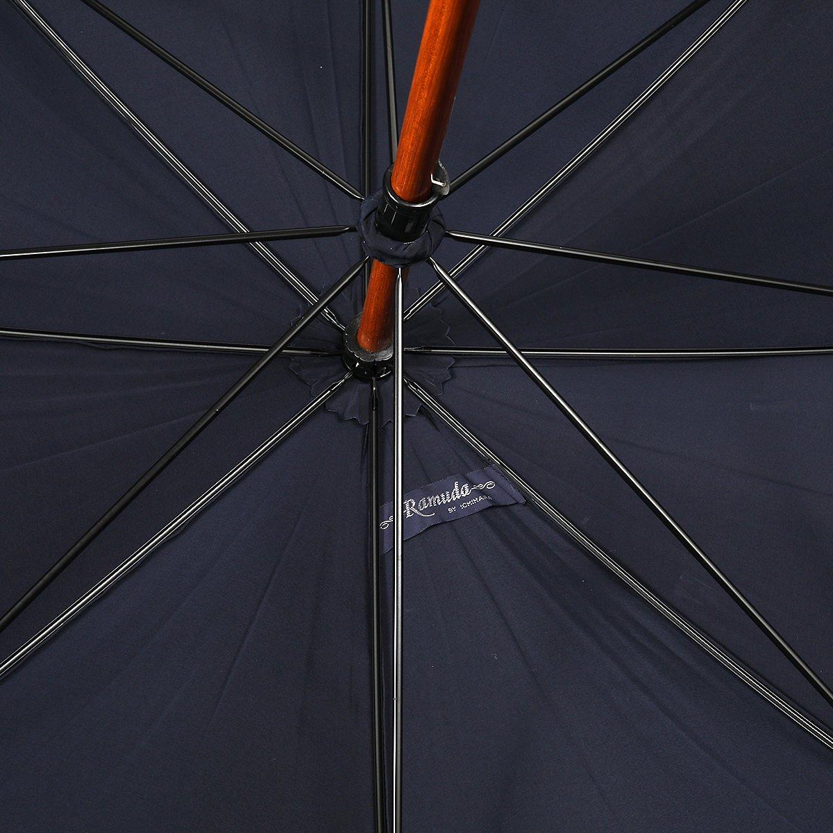 【公式限定】強力撥水 レインドロップ レクタス 木棒 フラッシーノ 長傘 詳細画像7