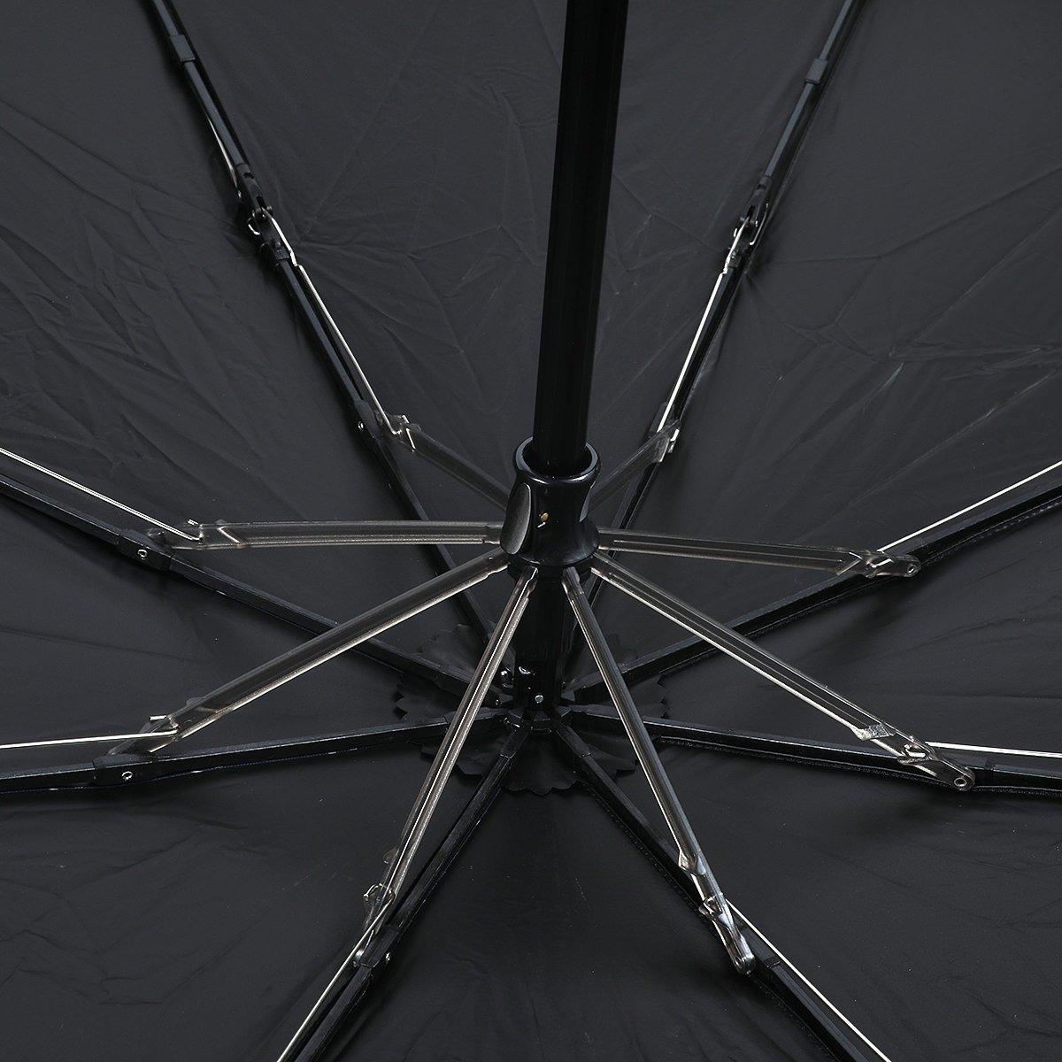 ストライプ 耐風骨 オールシーズン 折りたたみ傘 詳細画像6
