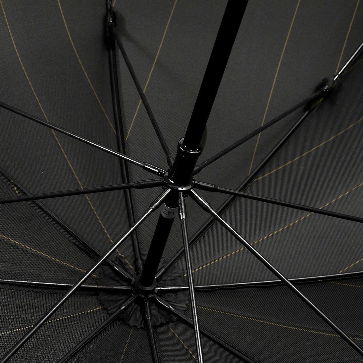 【セール】グリーン ストライプ 長傘 詳細画像5