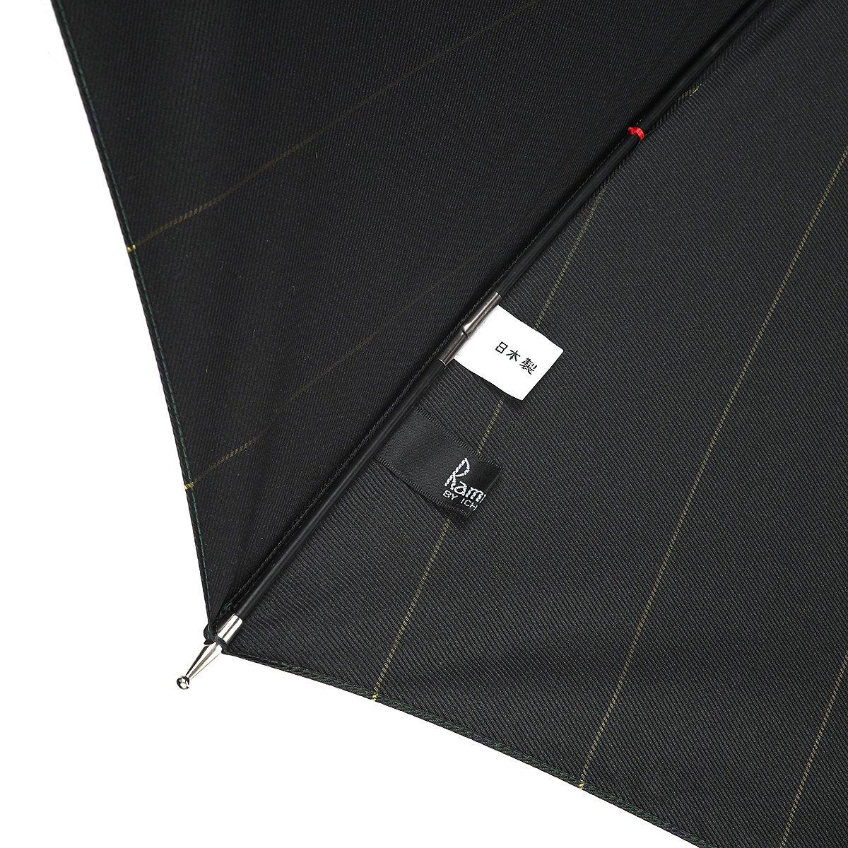 【セール】グリーン ストライプ 長傘 詳細画像6