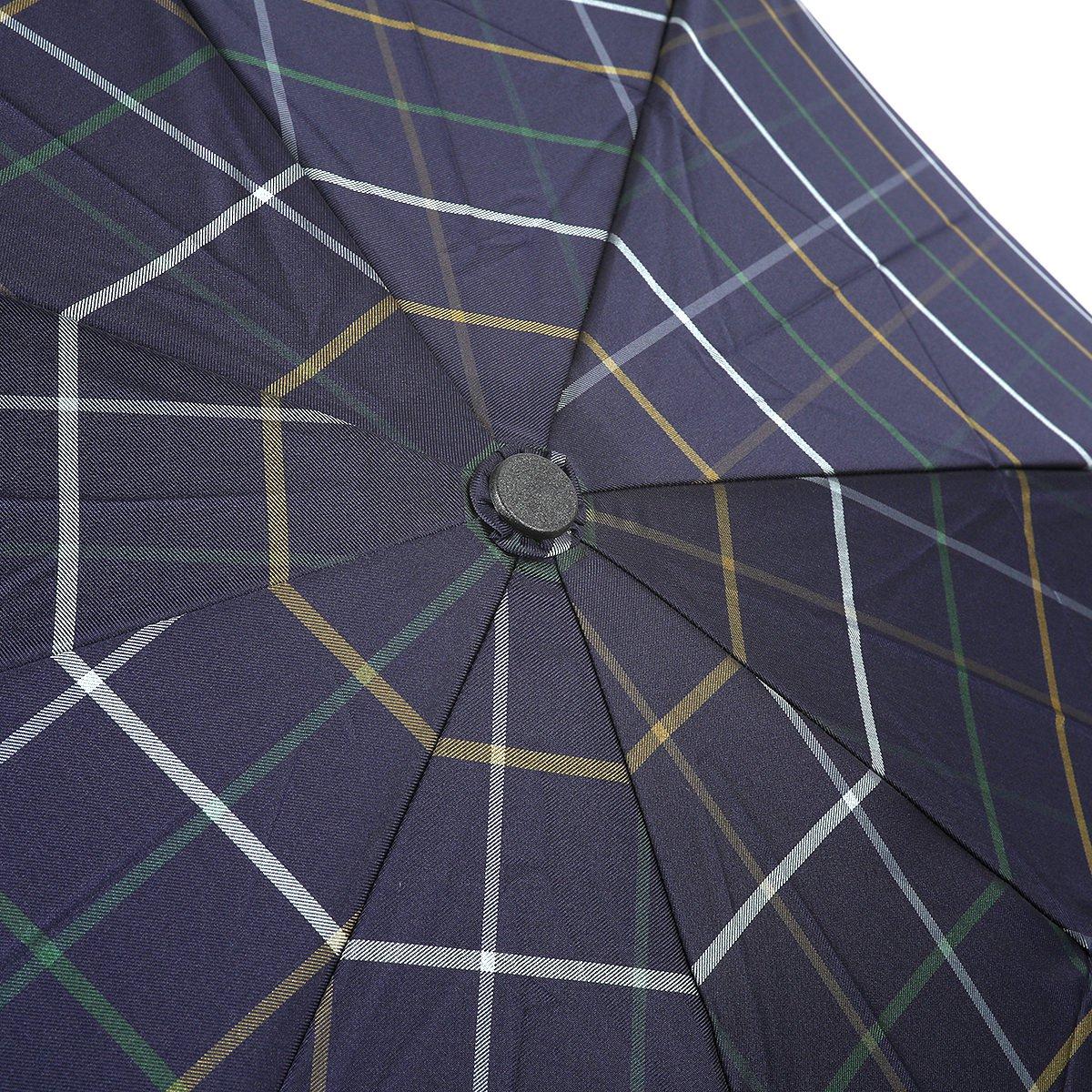 【セール】3カラー チェック 耐風骨 折りたたみ傘 詳細画像6