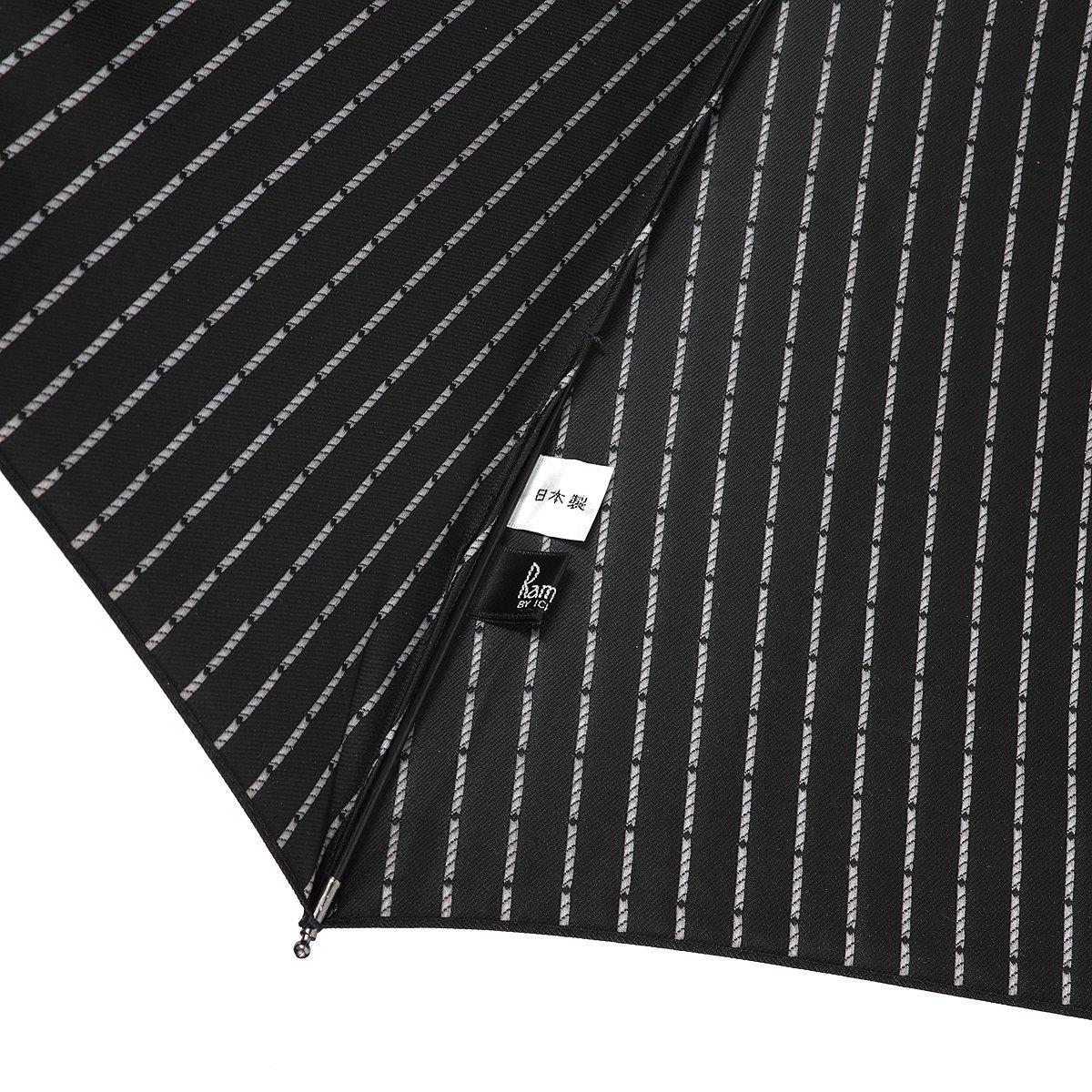 【セール】ドット ジャカード 折りたたみ傘 詳細画像7