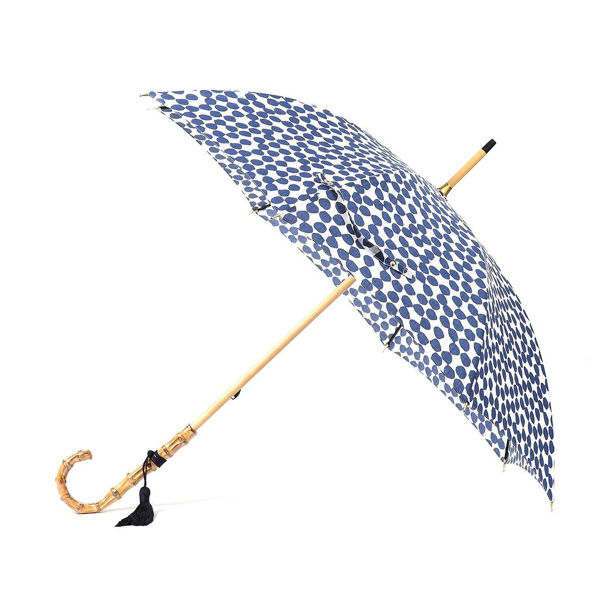 【晴雨兼用傘】東京洋傘 レディース 手書き風 ドット柄 長傘 詳細画像8