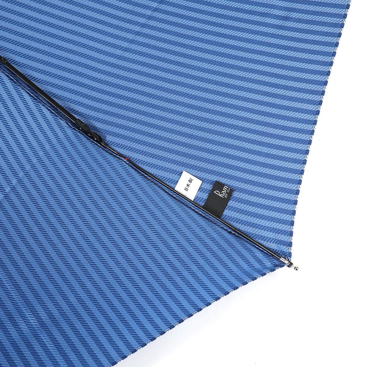 ロンドンストライプ 耐風骨 折りたたみ傘 詳細画像7