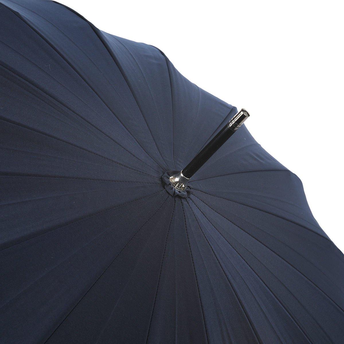 【公式限定】強力撥水 レインドロップ レクタス 16本骨 長傘 詳細画像8